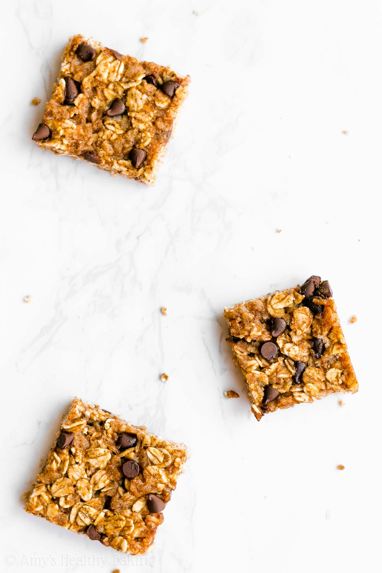 Easy Healthy Clean Eating Chewy Pumpkin Chocolate Chip Granola Bar Bites