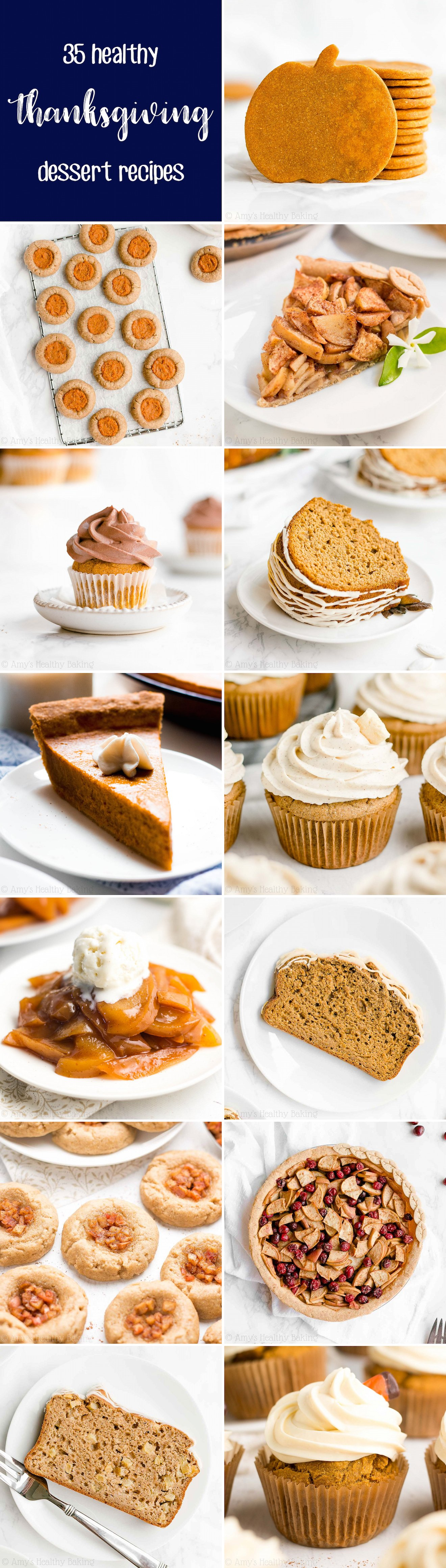 35 Best Healthy Thanksgiving Dessert Recipes with Weight Watchers Points