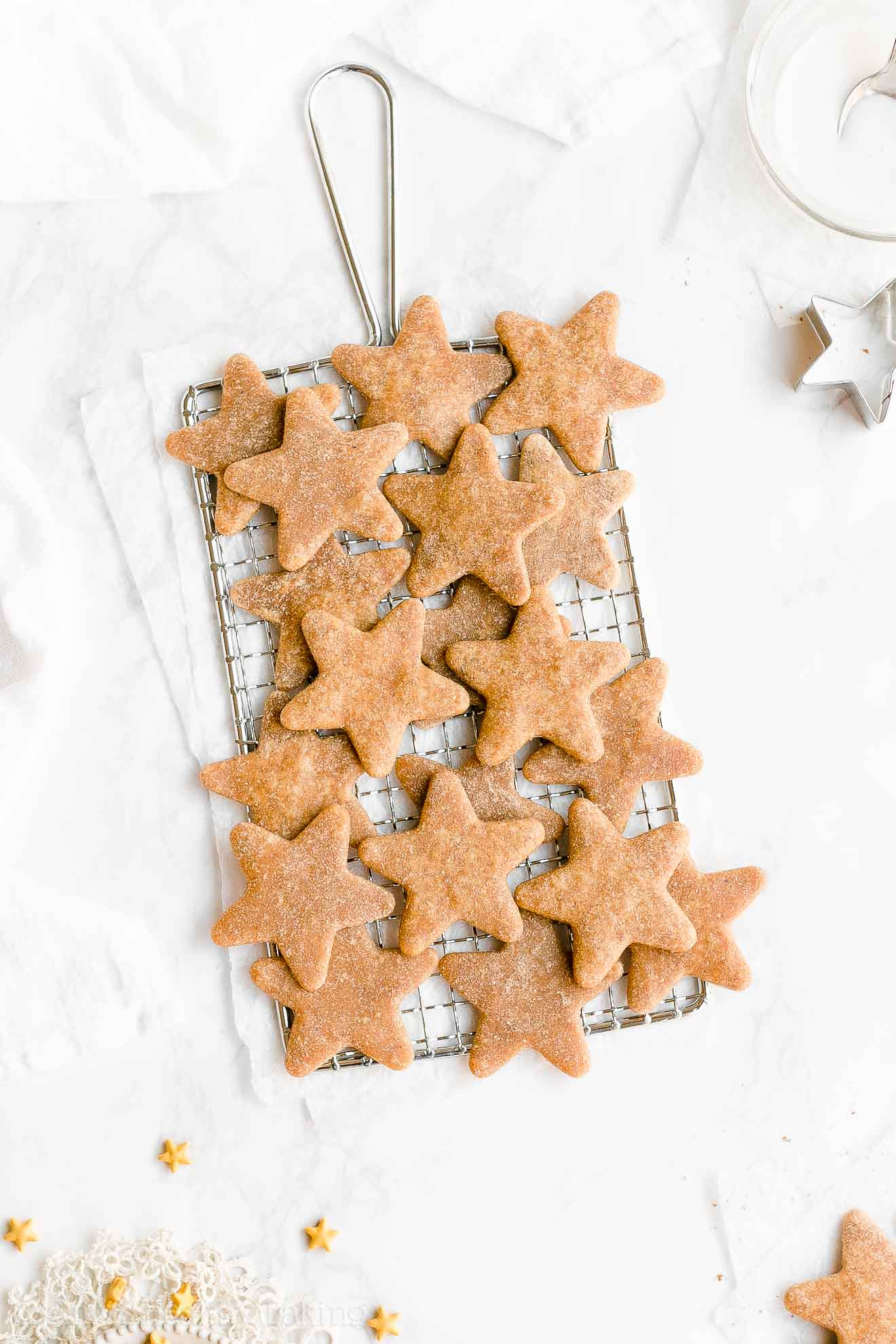 Best Ever Easy Healthy Soft Chewy Cut-Out Eggnog Sugar Cookies