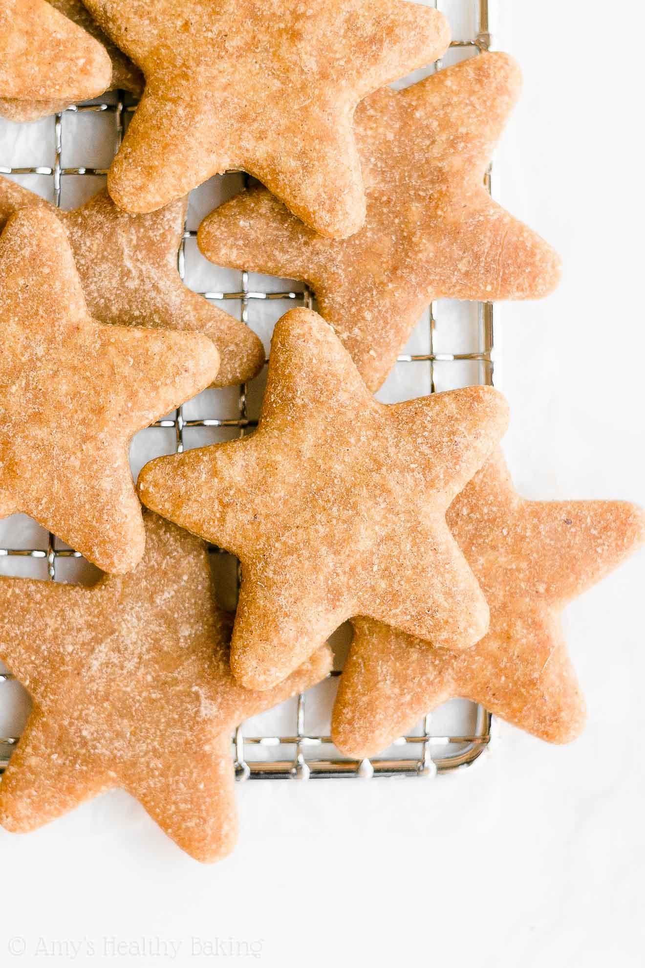 Best Easy Healthy Vegan Gluten Free Soft Eggnog Christmas Sugar Cookies