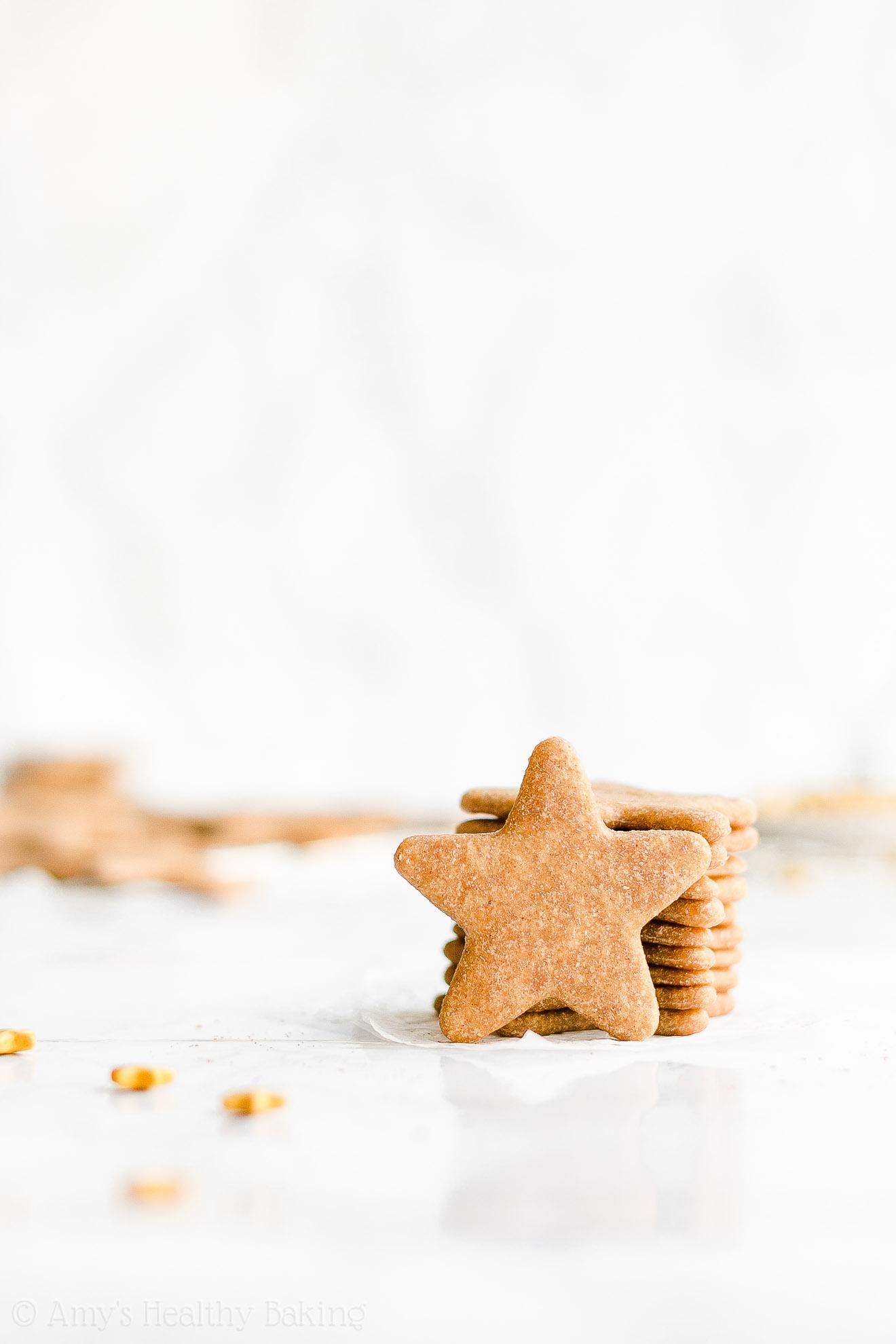 Best Easy Healthy Vegan Dairy Free Low Calorie Eggnog Sugar Cookies