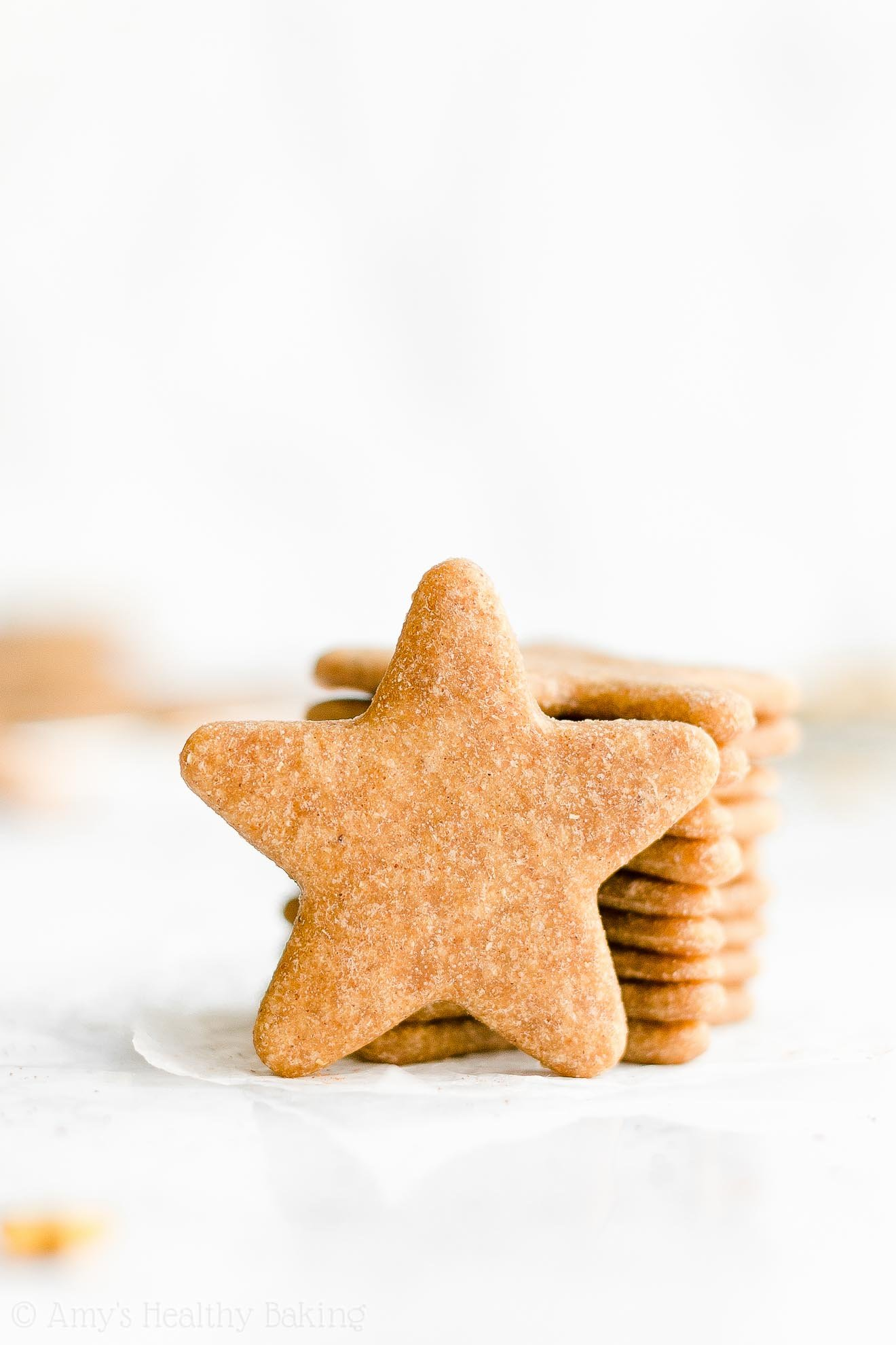 Easy Healthy Whole Wheat Soft Chewy Low Sugar Eggnog Sugar Cookies