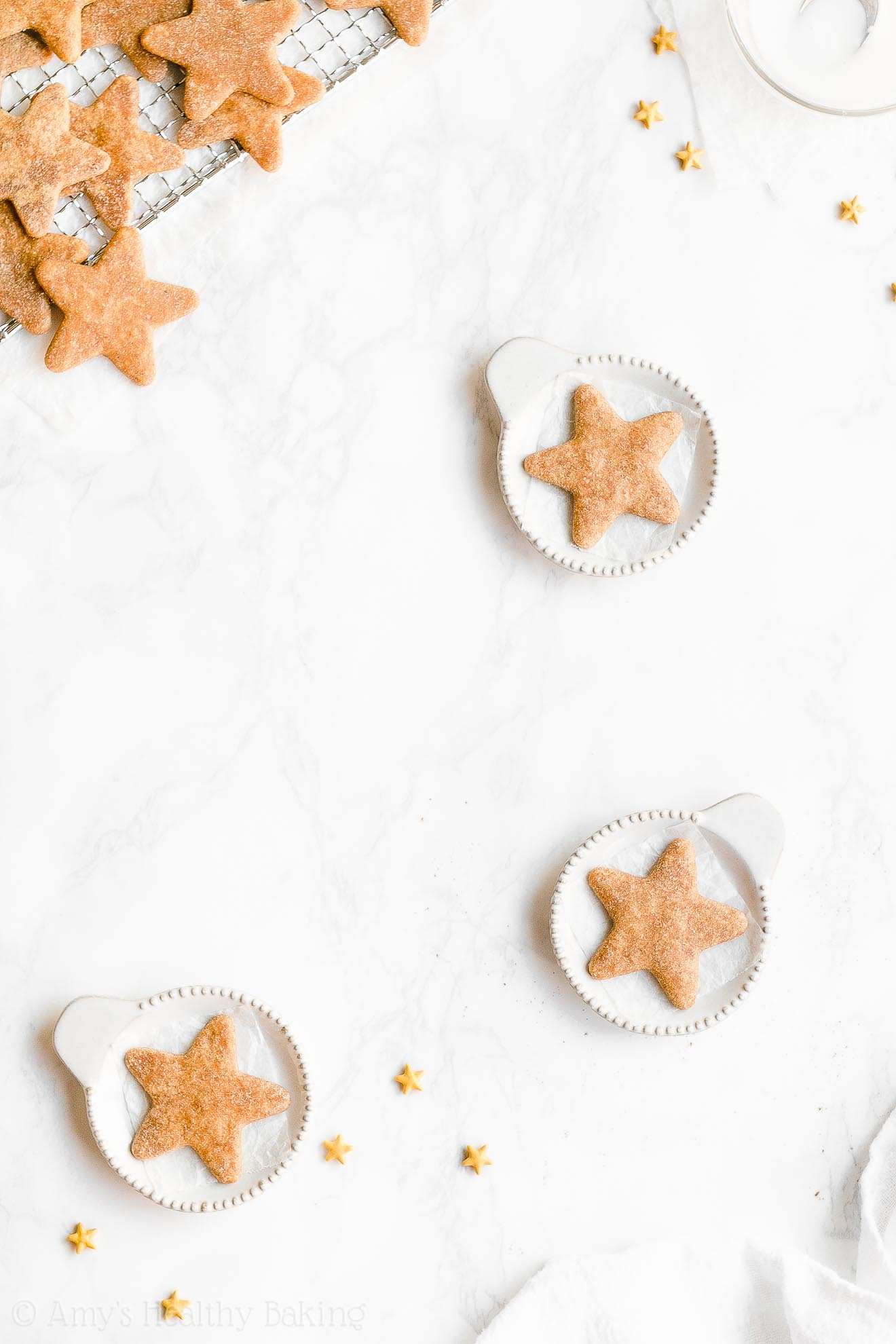 Best Easy Healthy Holiday Vegan Low Sugar Eggnog Sugar Cookies