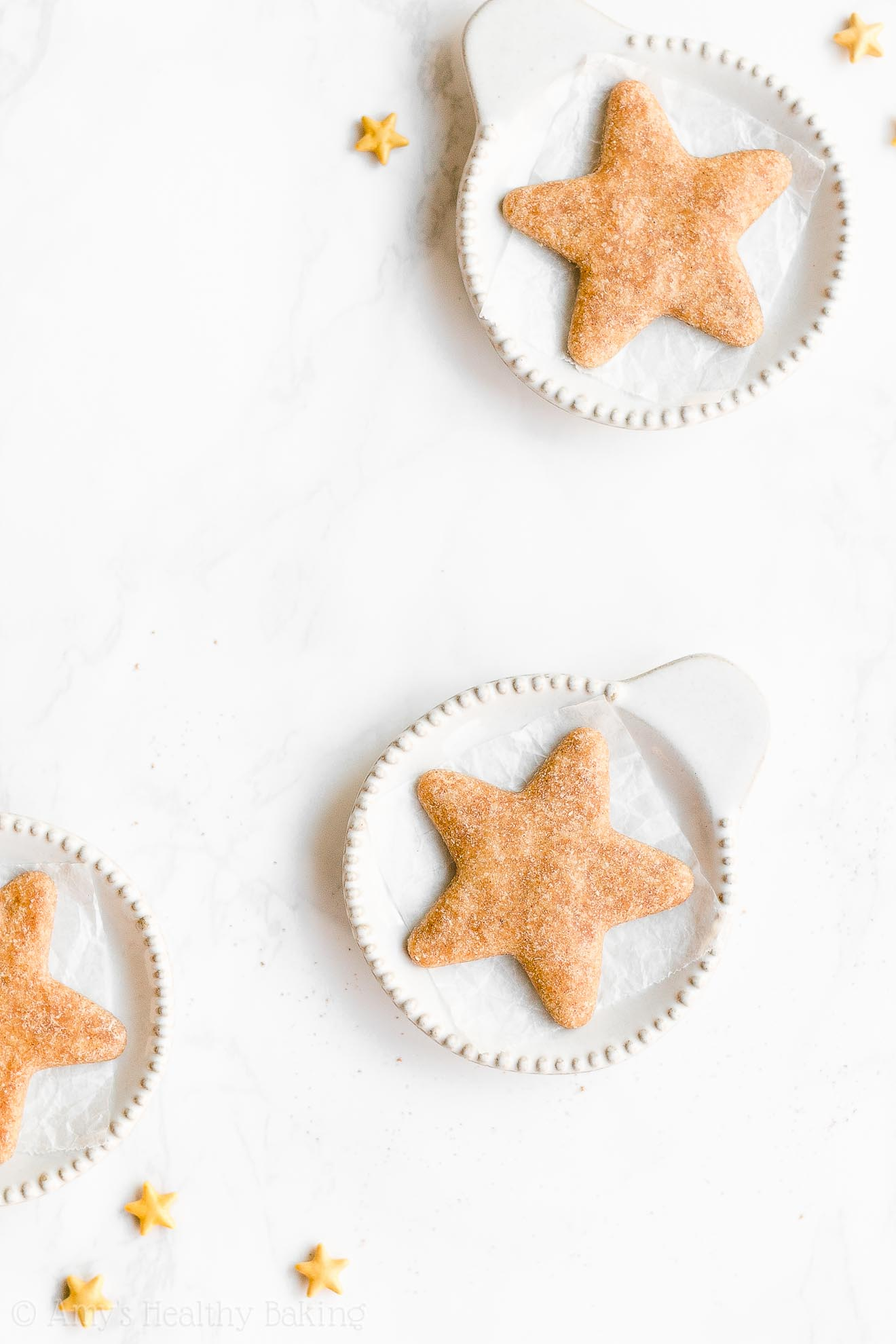 Easy Healthy Vegan Gluten Free Low Fat Eggnog Sugar Cookies