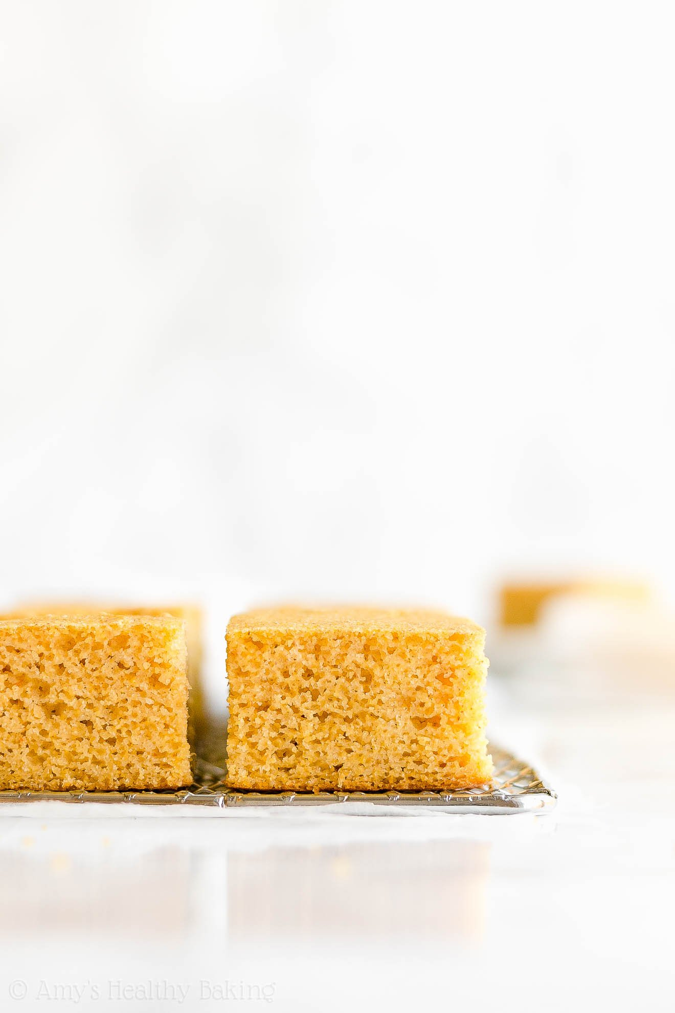 Easy Healthy Moist Whole Wheat One-Bowl Cornbread