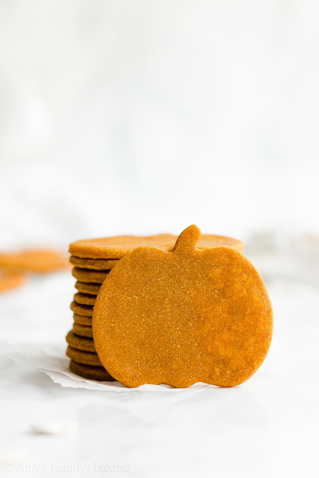Best Healthy Low Fat Soft Pumpkin Sugar Cookies with Weight Watchers Points
