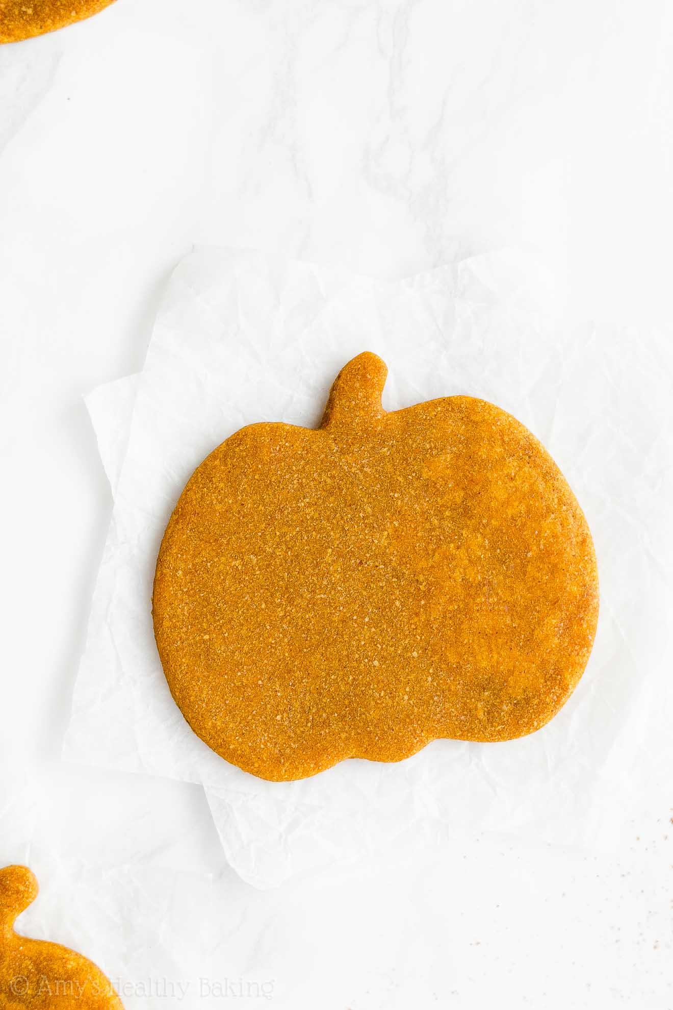 Best Healthy Clean Eating Sugar Free Low Calorie Pumpkin Sugar Cookies