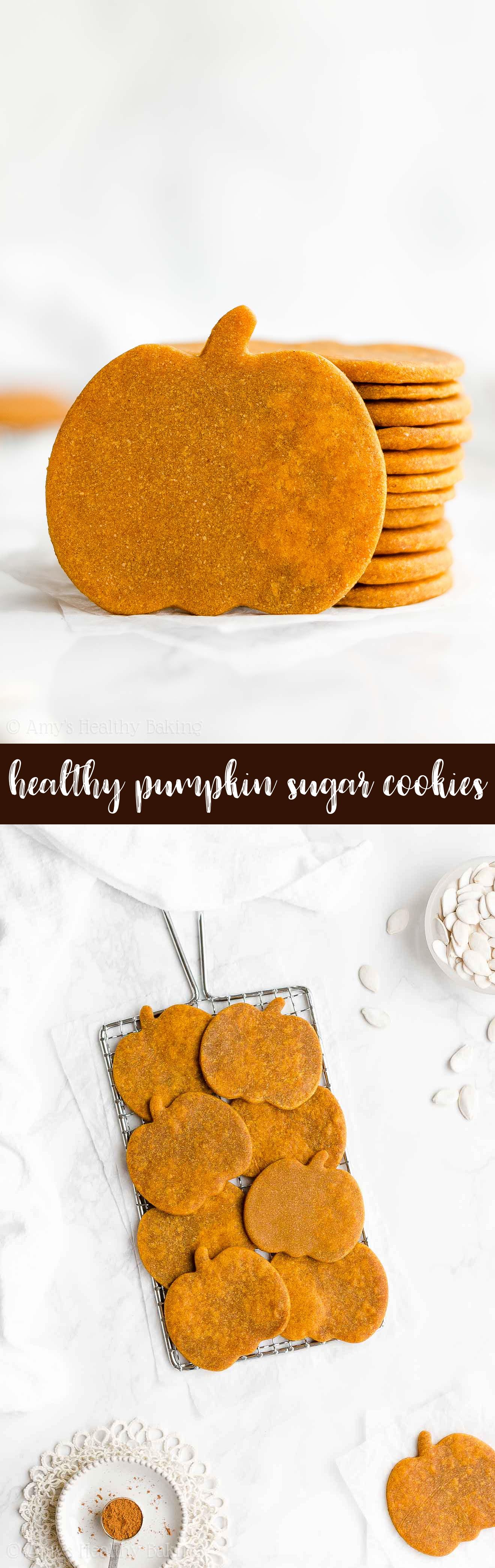 Best Ever Ultimate Healthy Clean Eating Soft Pumpkin Sugar Cookies