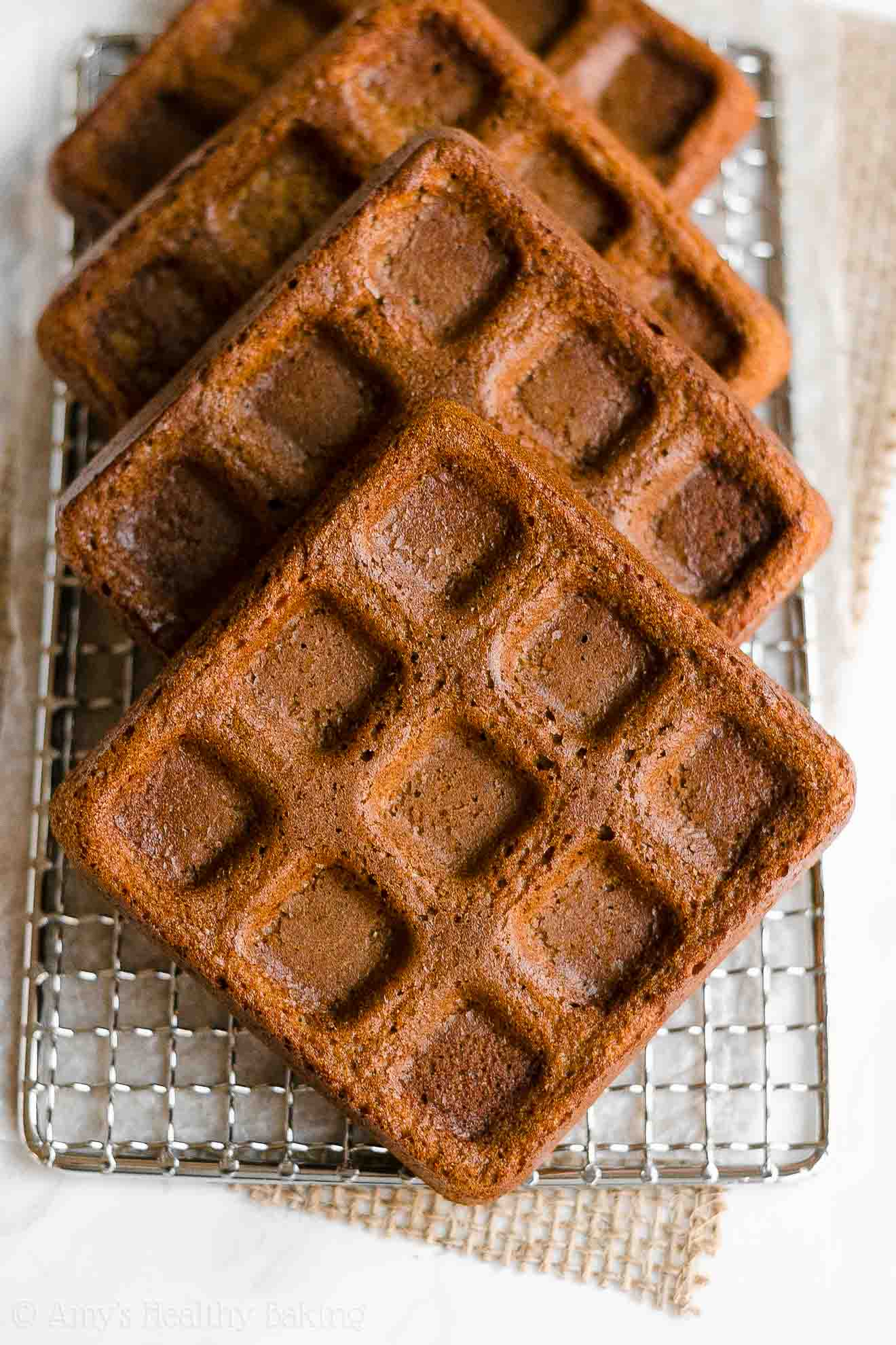 Best Easy Healthy Whole Wheat Crispy Fluffy Gingerbread Waffles