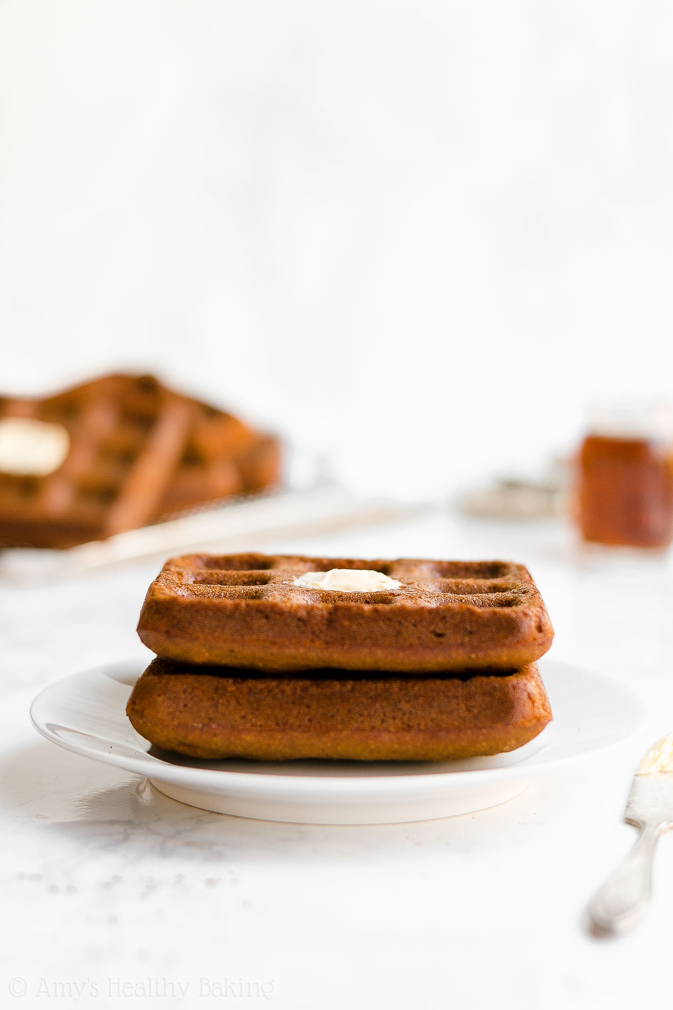 Best Easy Healthy Whole Wheat Crispy Holiday Gingerbread Waffles