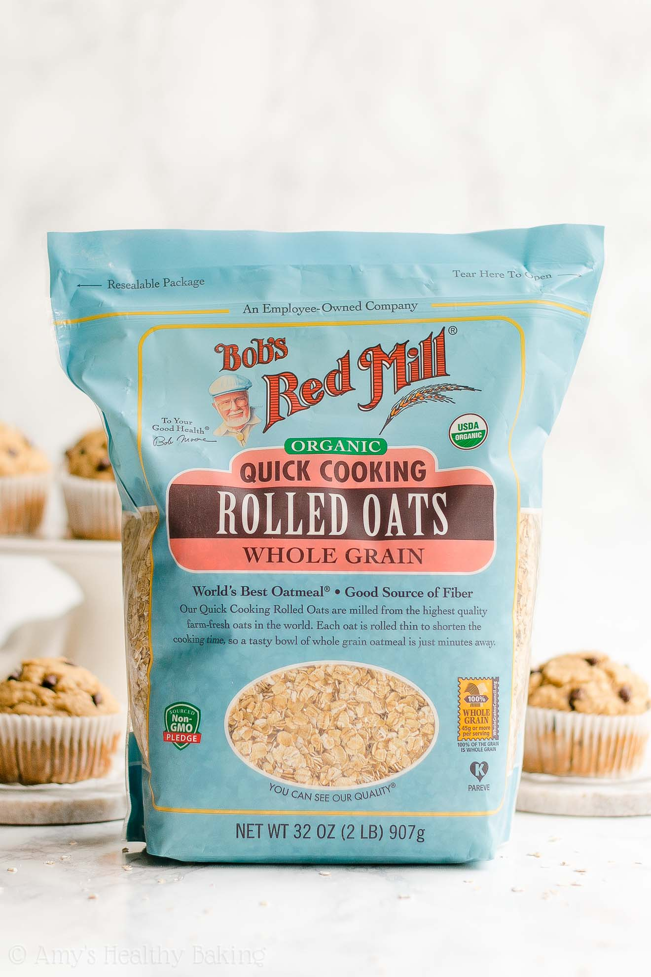 Bob's Red Mill Organic Quick Cooking Rolled Oats