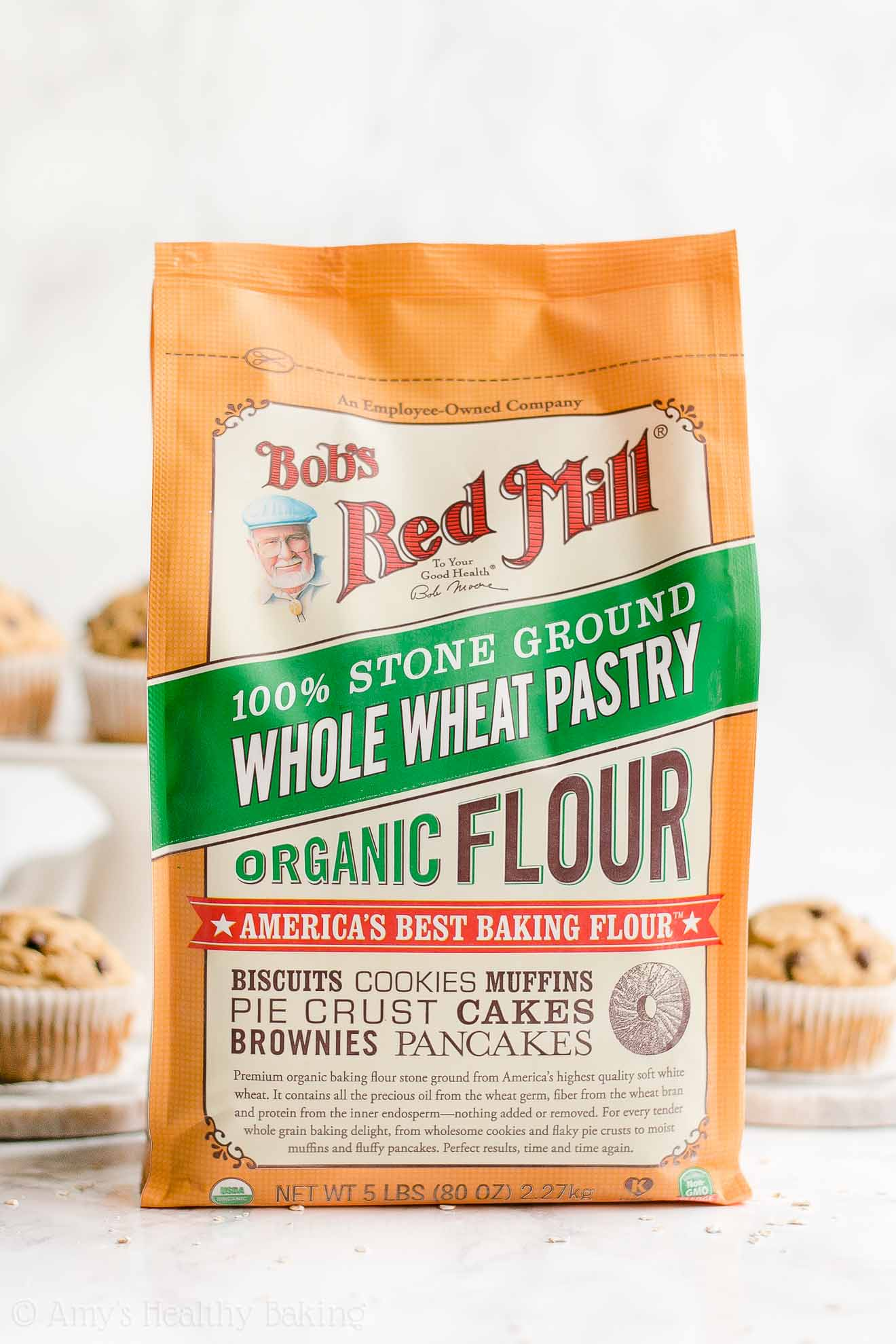 Bob's Red Mill Organic Quick Whole Wheat Pastry Flour