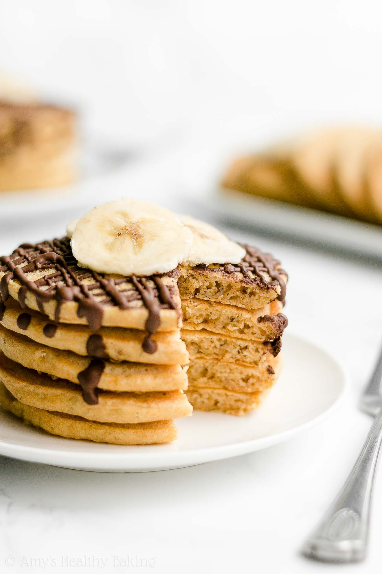 Best Easy Healthy Homemade Gluten Free Dairy Free Fluffy Banana Pancakes