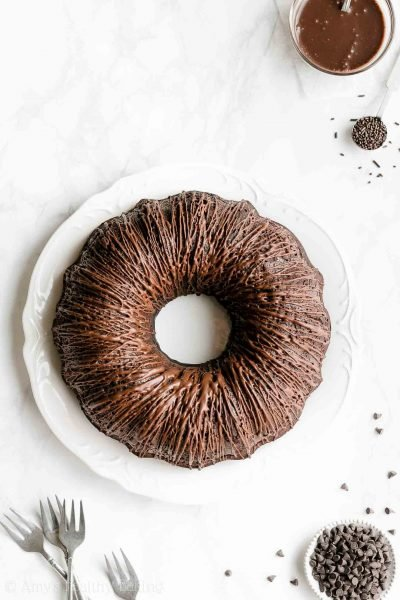 The Ultimate Healthy Chocolate Bundt Cake