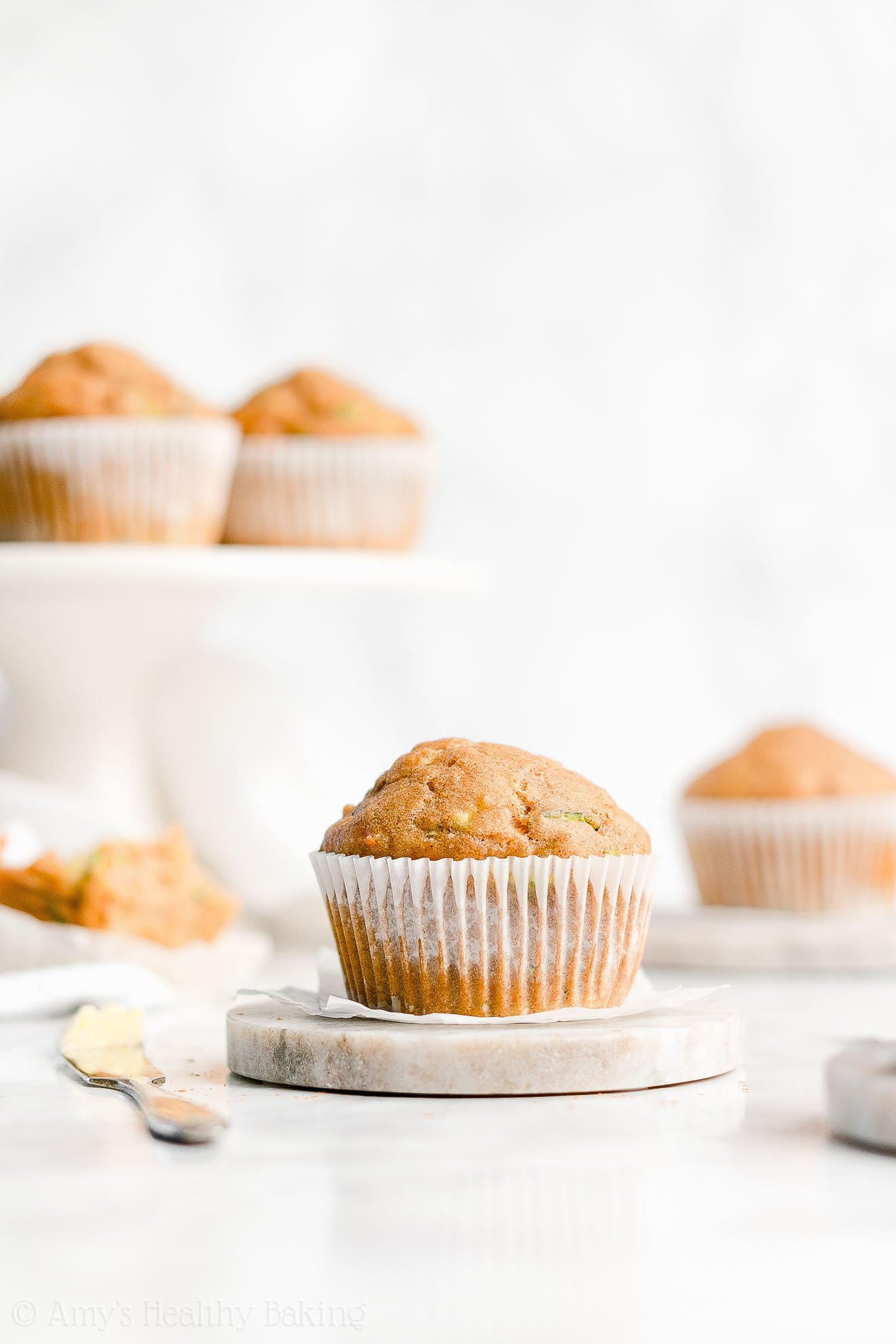 Easy Healthy Weight Watchers Low Calorie Spiced Carrot Zucchini Muffins
