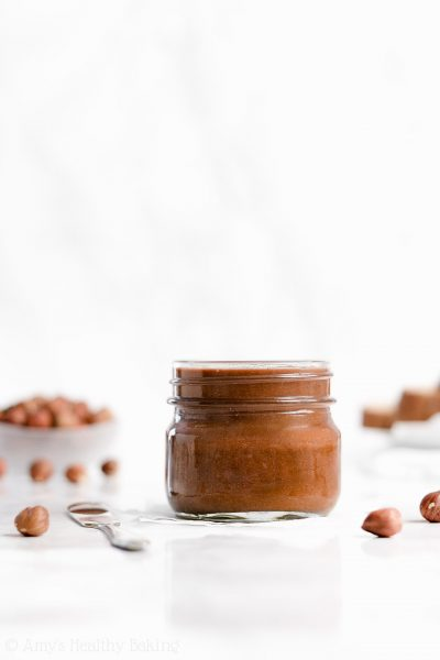 The Ultimate Healthy Homemade Nutella