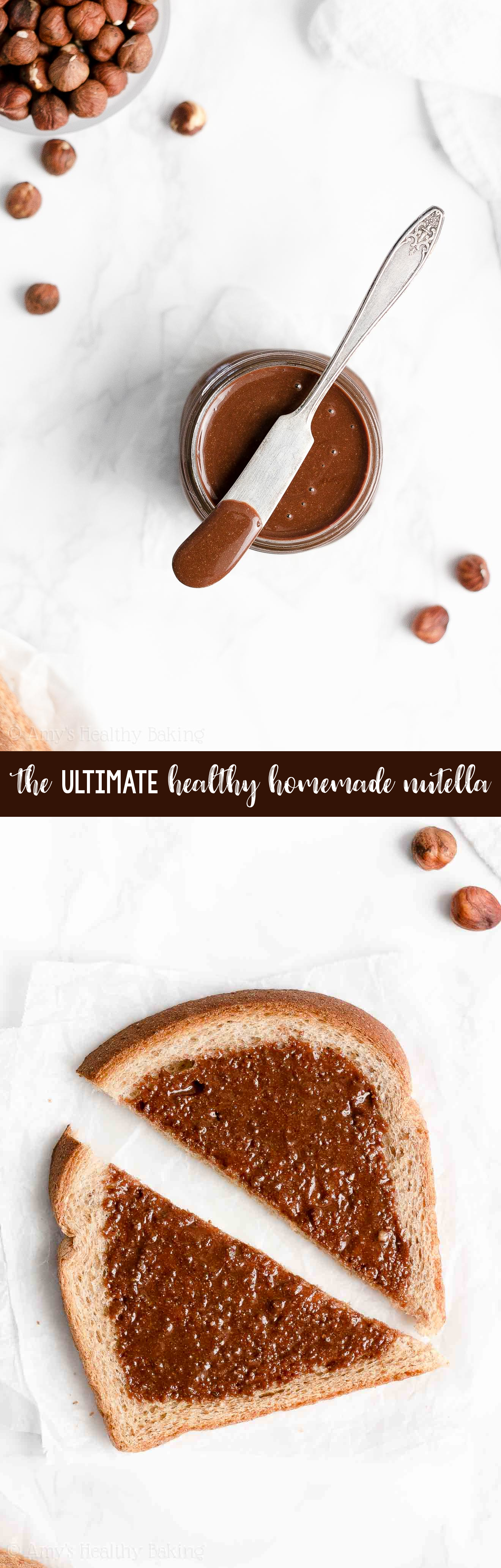 ULTIMATE Best Ever Easy Healthy Sugar Free Vegan Homemade Nutella