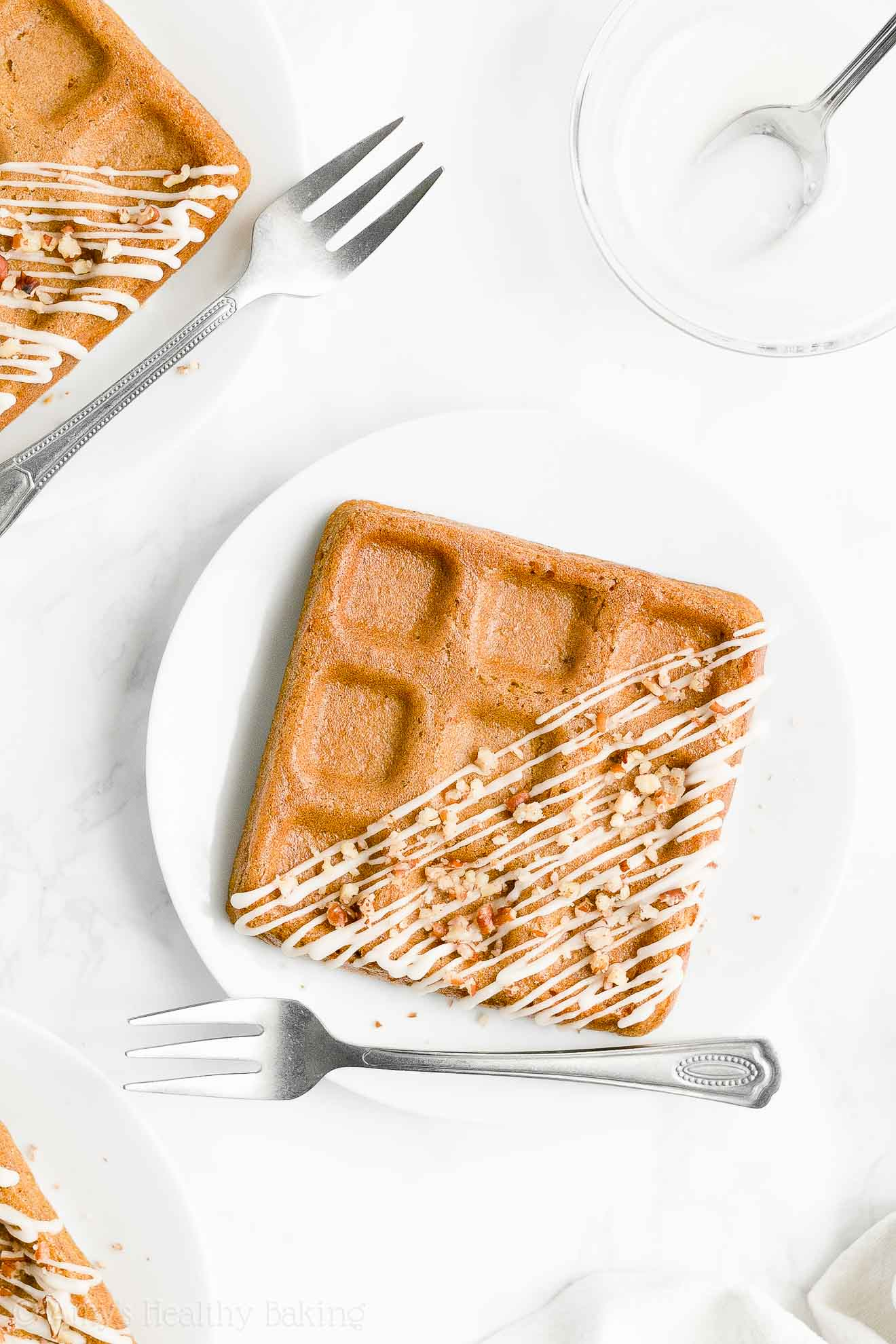 Best Easy Healthy Homemade Whole Wheat Crispy Fluffy Carrot Cake Waffles