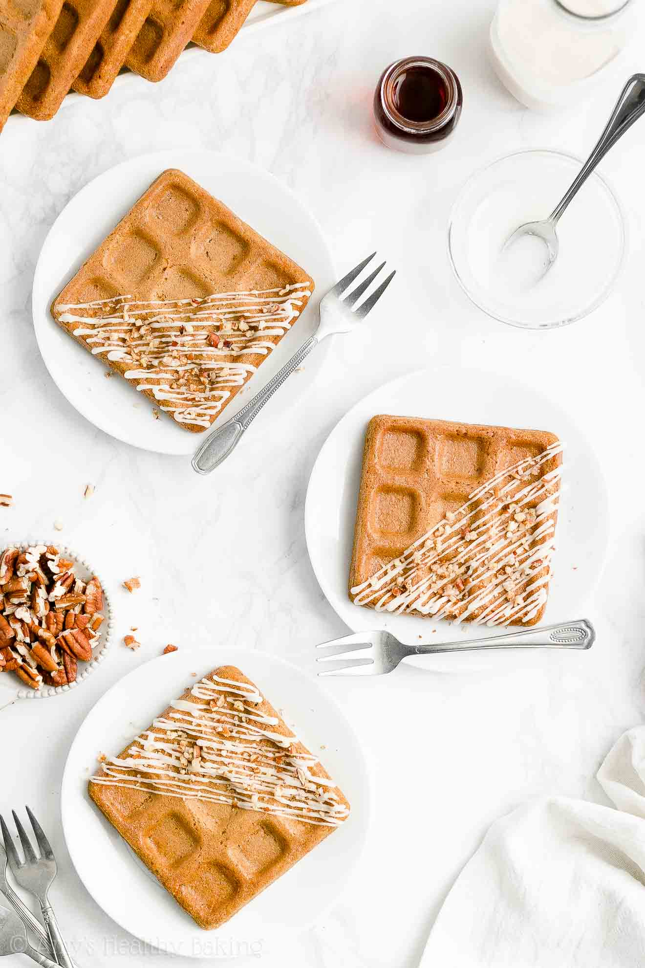 Best Easy Healthy Homemade Crispy Fluffy Whole Wheat Carrot Cake Waffles