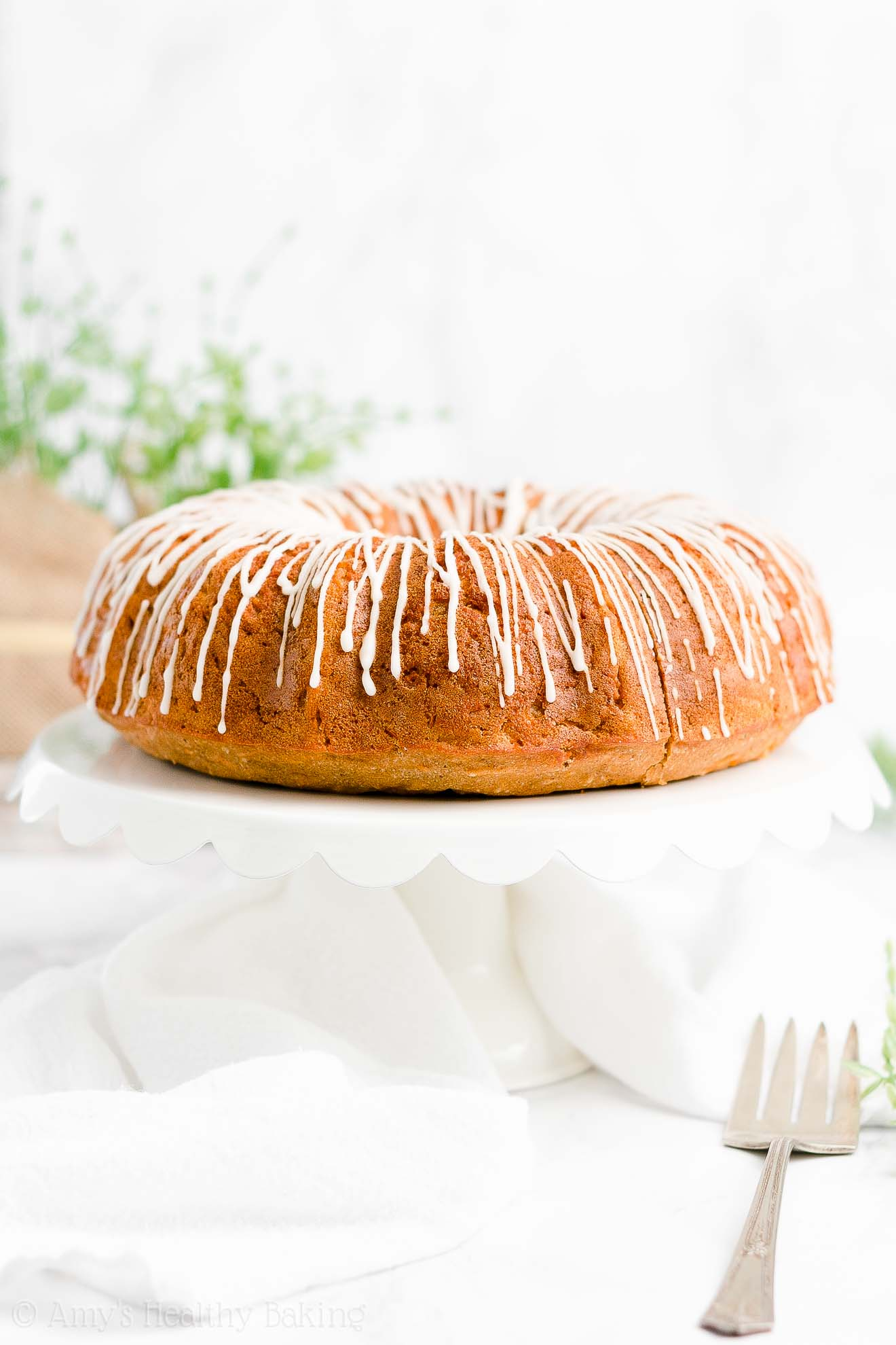 Best Easy Healthy Gluten Free Sugar Free Super Moist Carrot Bundt Cake