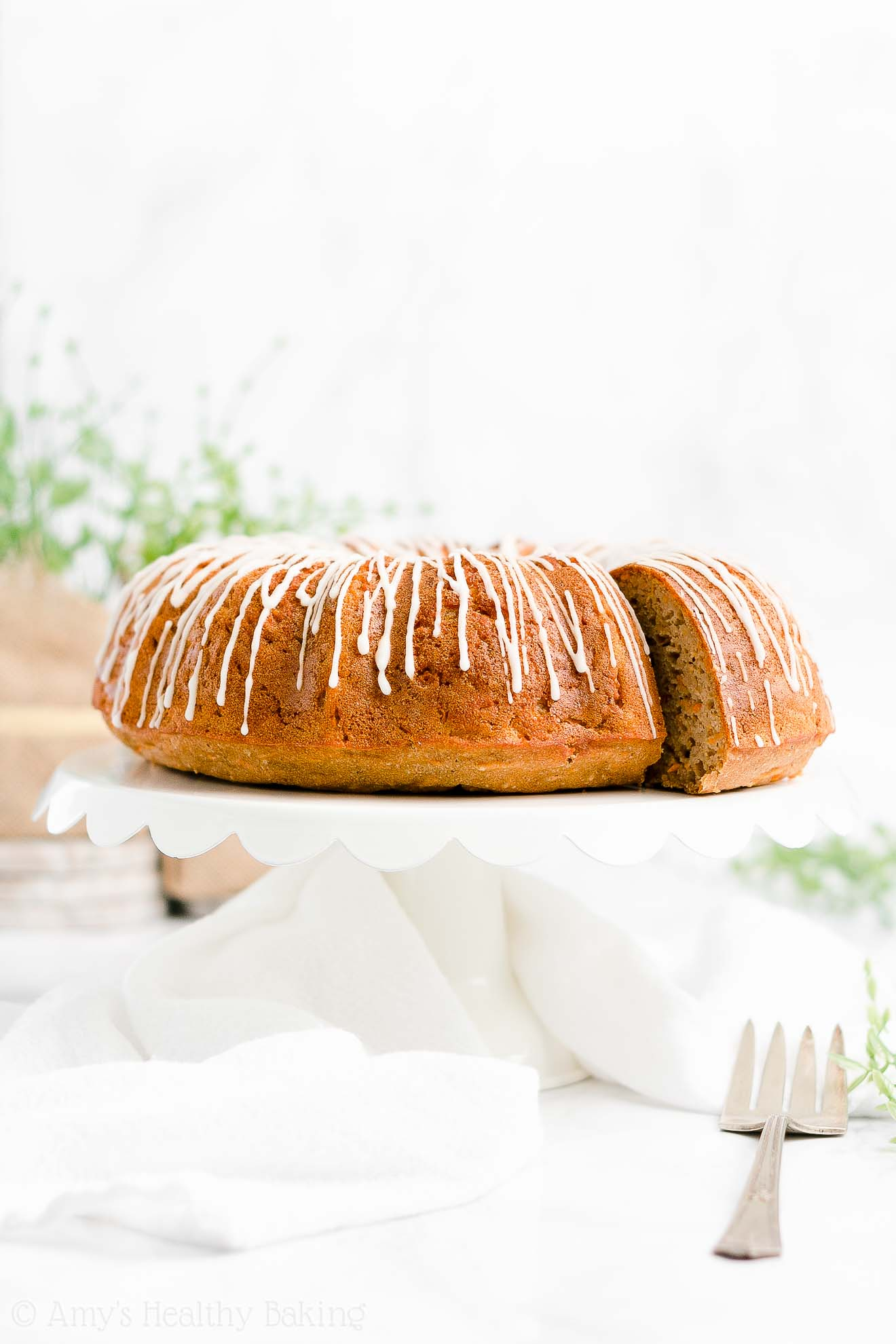 Best Easy Healthy Whole Wheat Low Fat Super Moist Carrot Bundt Cake