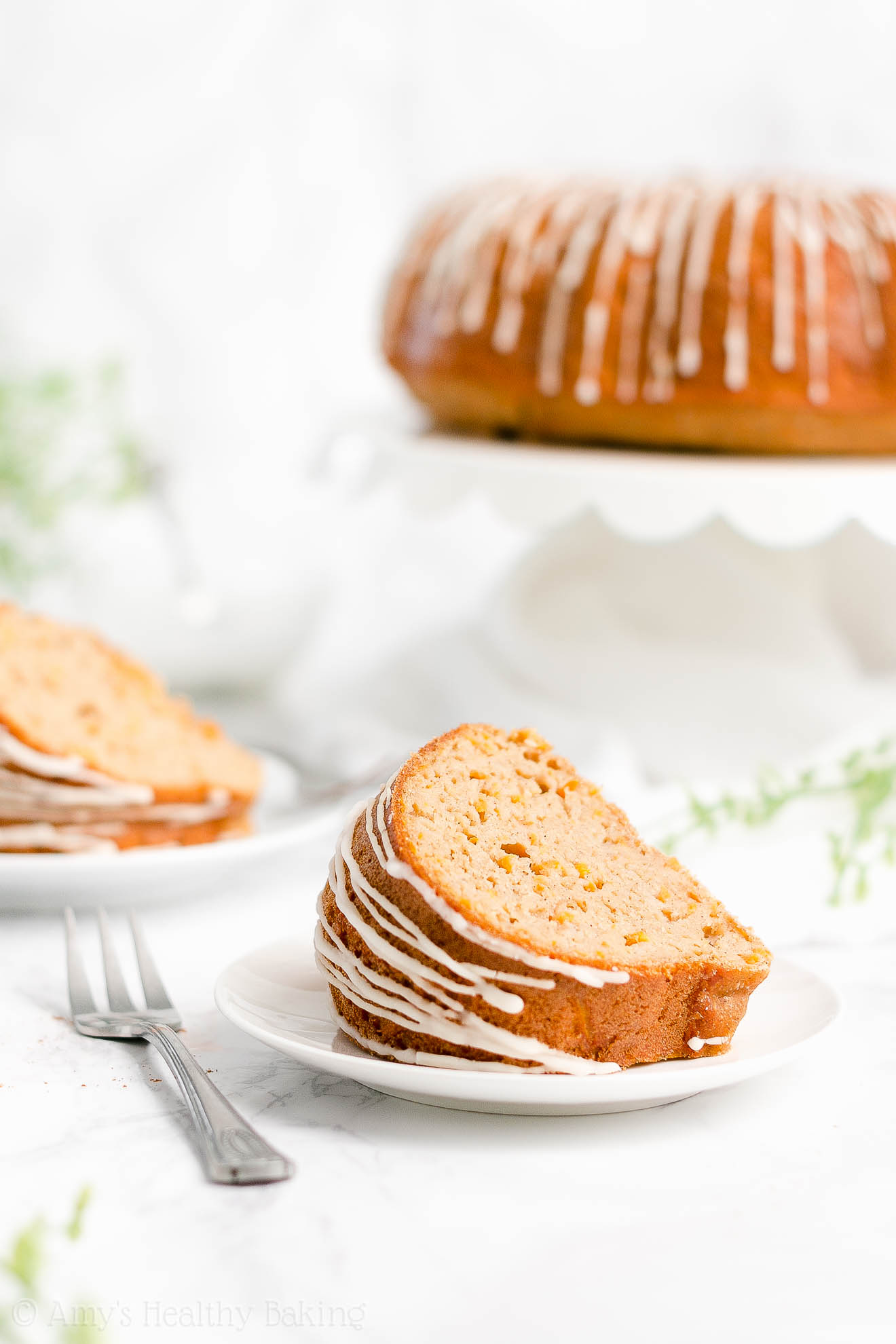 Best Easy Healthy Low Fat Low Sugar Super Moist Carrot Bundt Cake