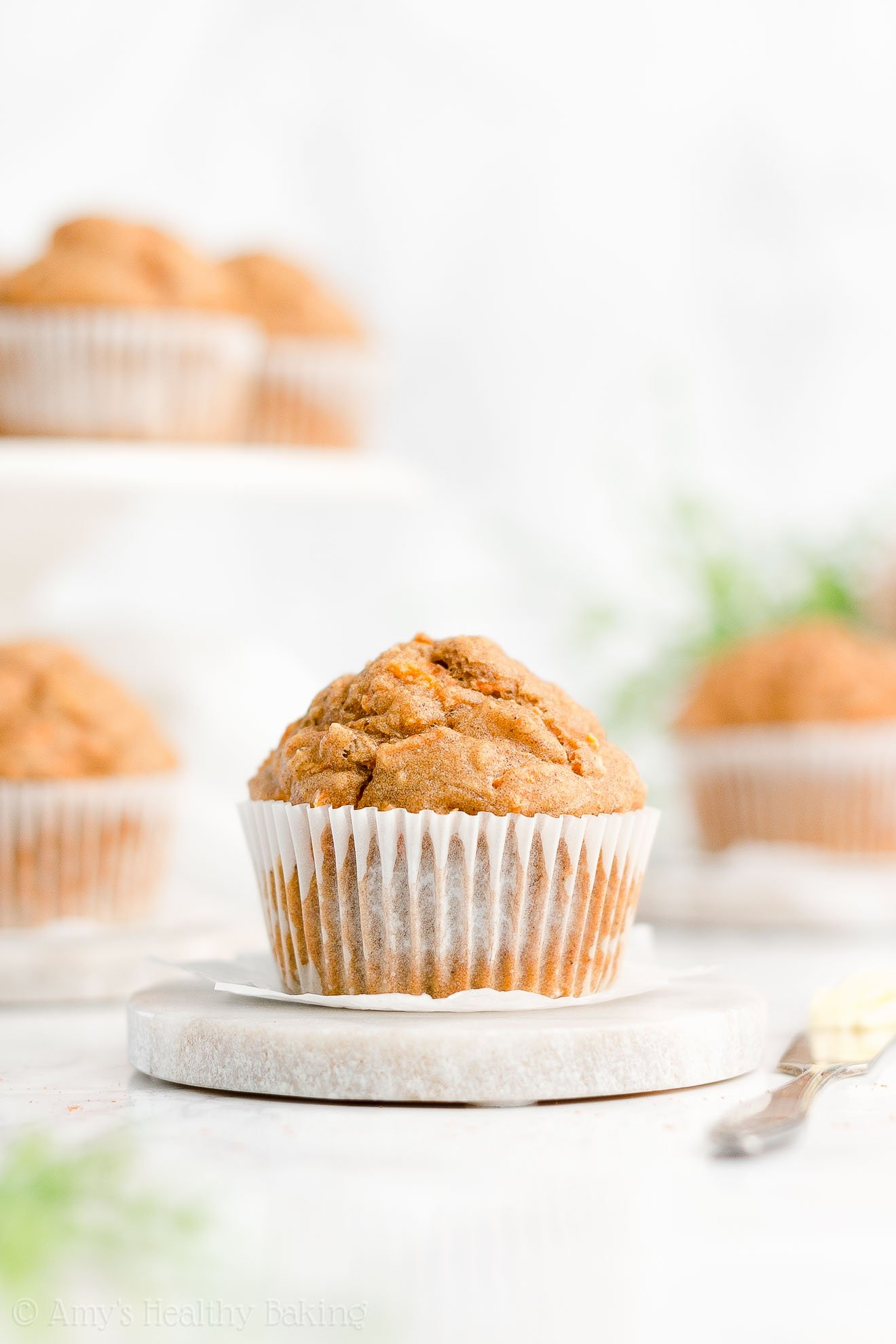 Best Easy Healthy Whole Wheat Sugar Free Moist Carrot Cake Oatmeal Muffins
