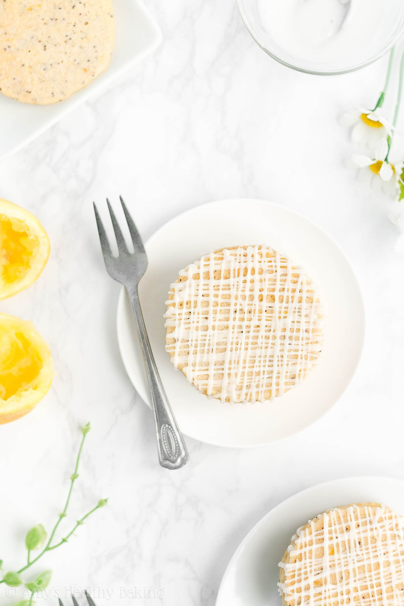 Easy Healthy Low Fat Low Calorie No Sugar Fluffy Lemon Poppy Seed Pancakes