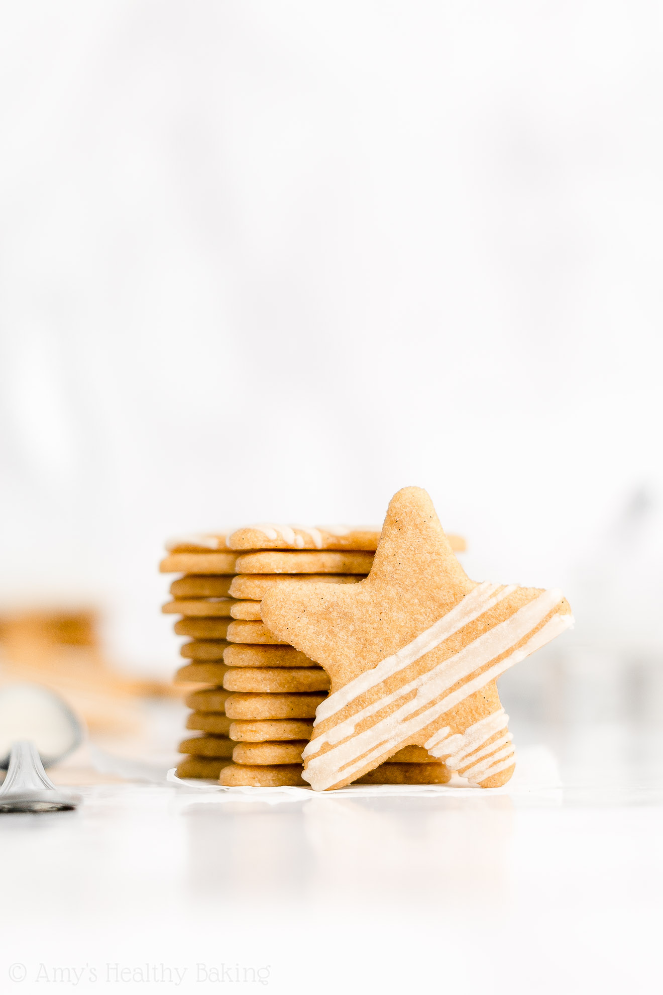 Best Easy Healthy Whole Wheat Soft Cut Out Vanilla Bean Paste Sugar Cookies