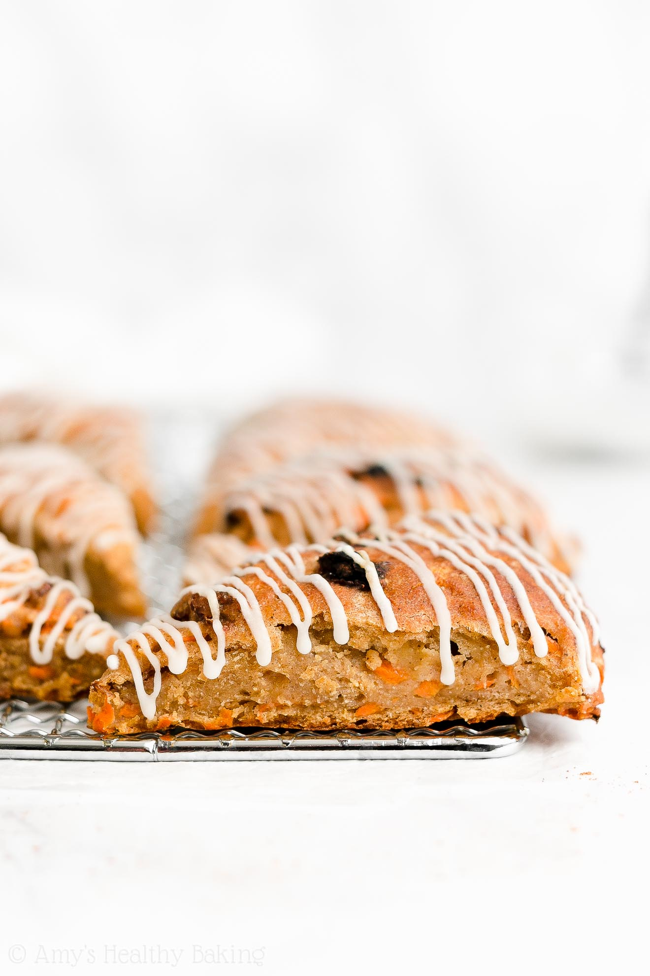 Easy Healthy Whole Wheat Greek Yogurt Moist Chai Spice Carrot Raisin Scones