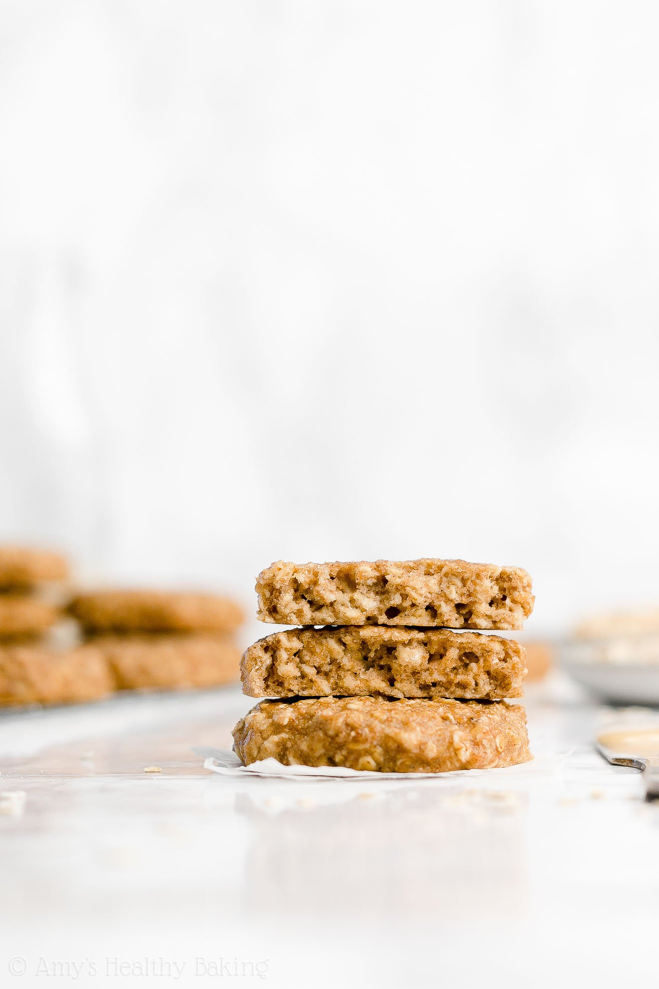 Easy Healthy Weight Watchers Peanut Butter Banana Oatmeal Breakfast Cookies