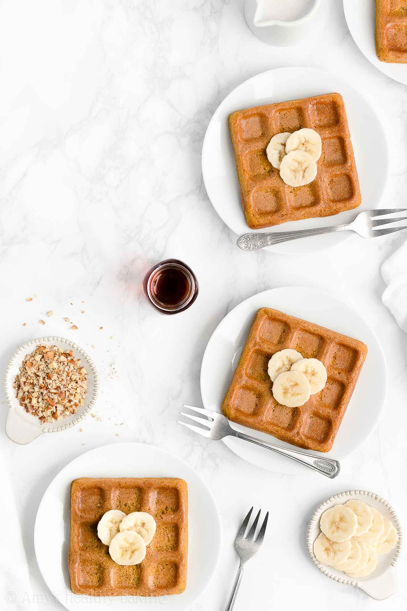 Best Easy Healthy Vegan Gluten Free Sugar Free No Eggs Crispy Banana Waffles