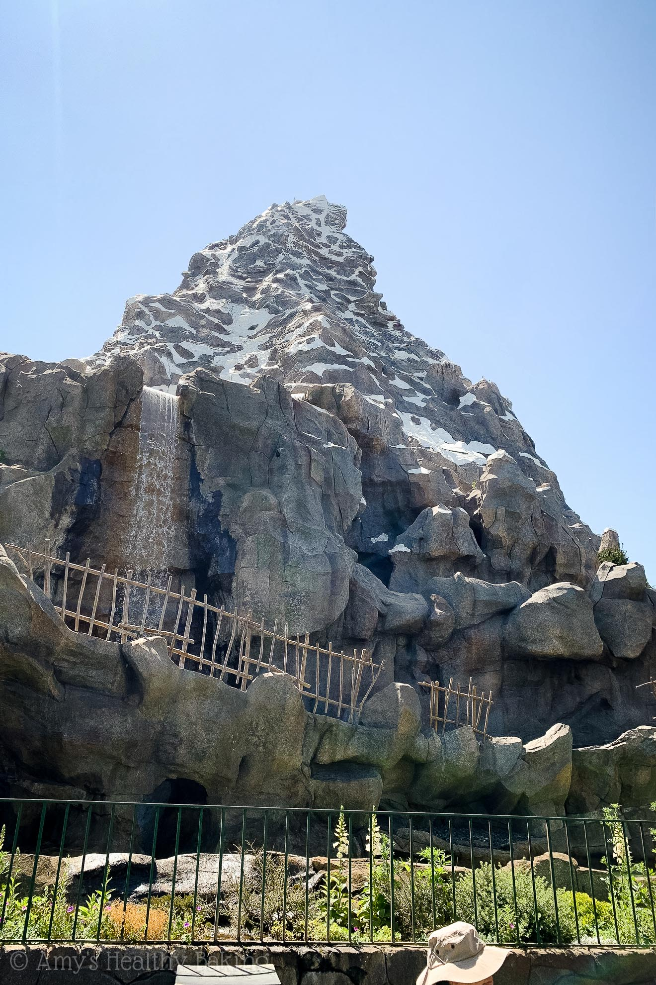 The Matterhorn in Disneyland - Anaheim, California