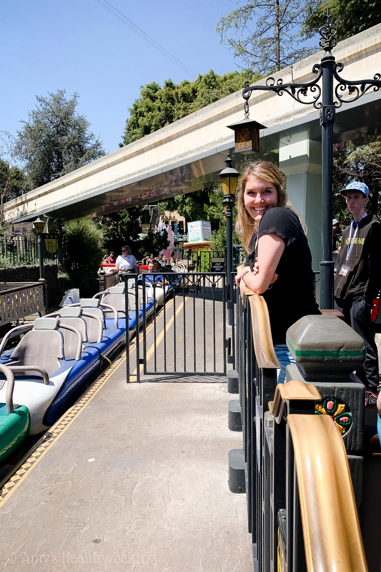 The Matterhorn ride in Disneyland - Anaheim, California