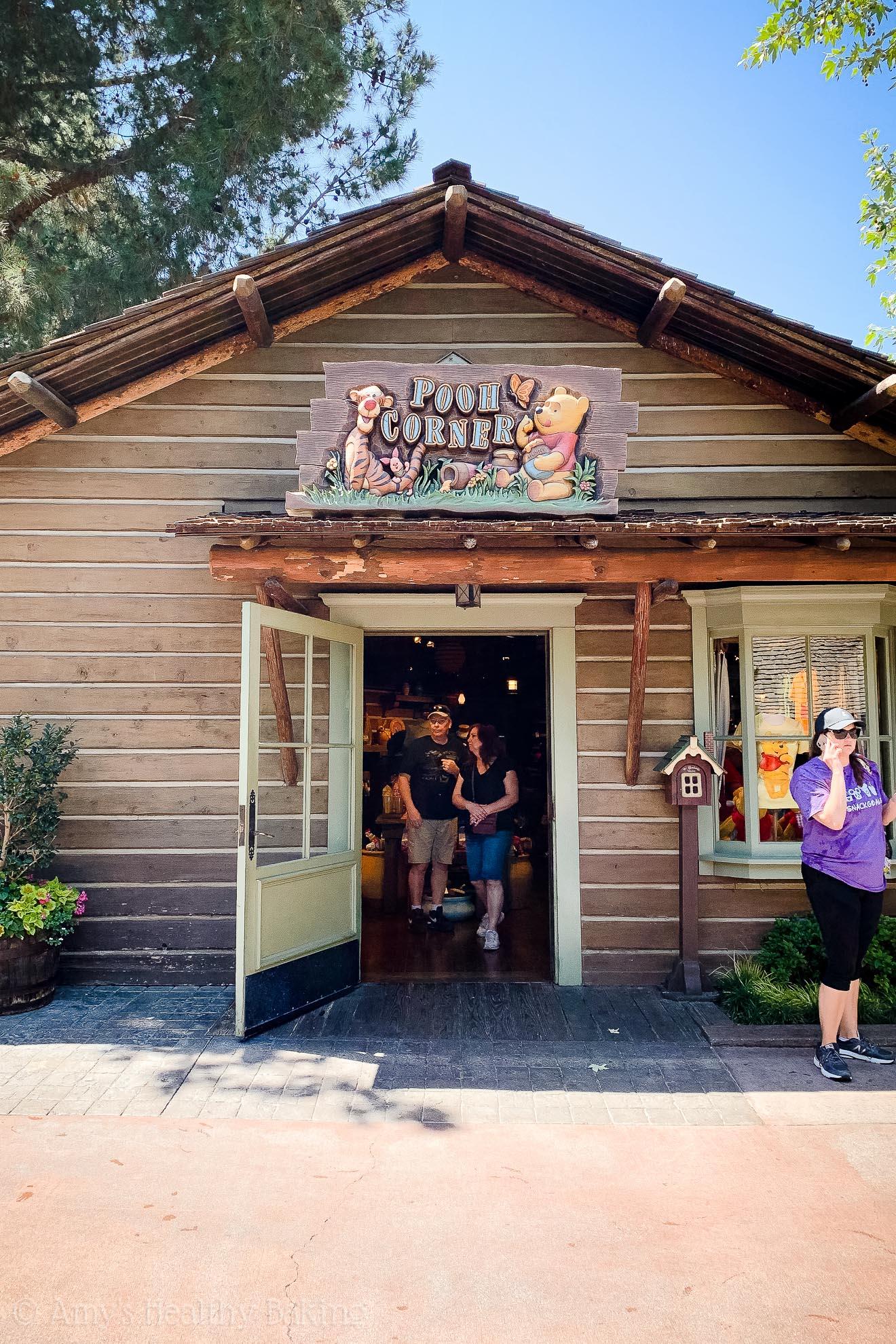 Pooh Corner souvenir shop entrance in Disneyland - Anaheim, California