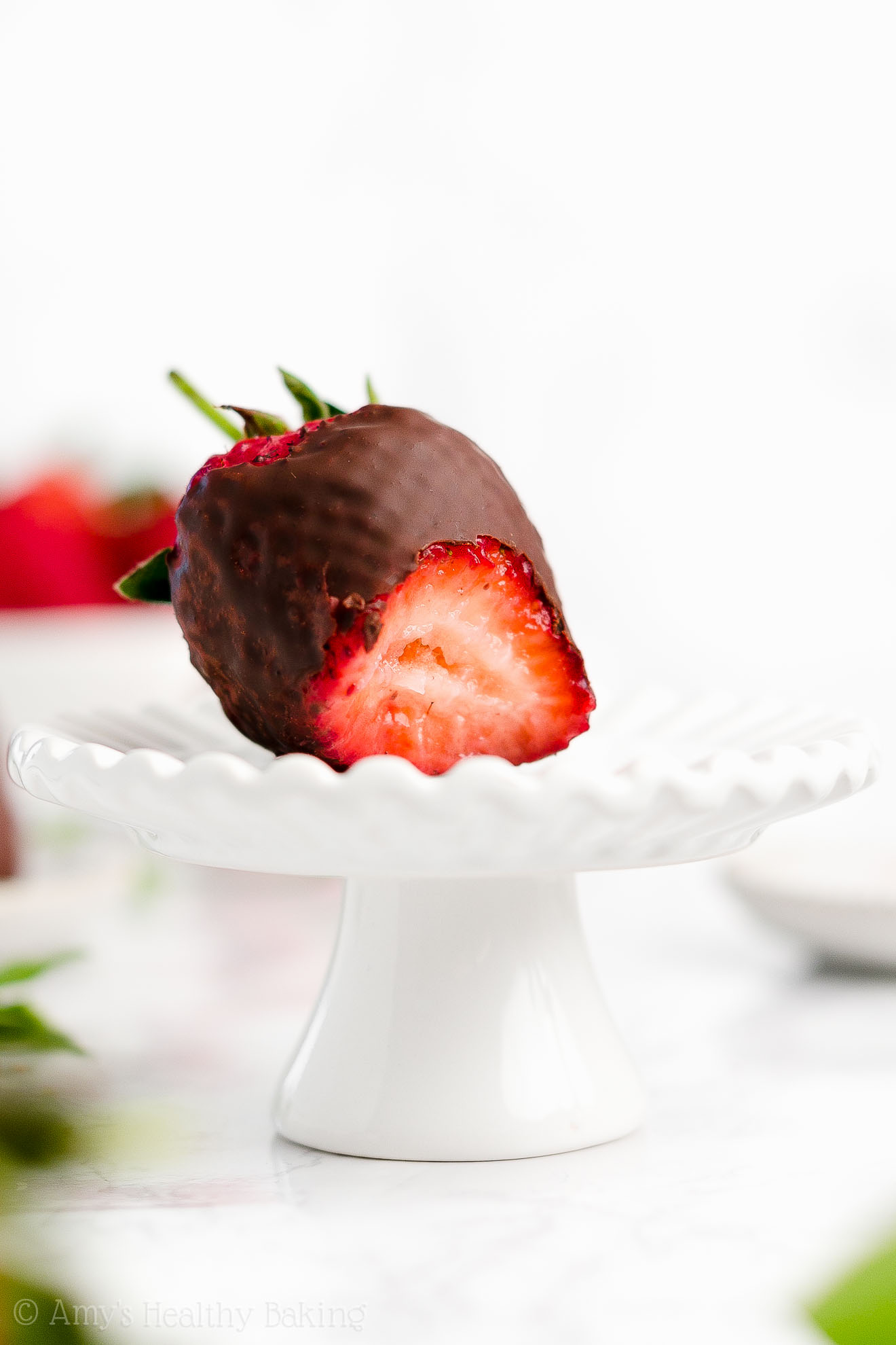 Perfect, BEST EVER Gluten Free Dairy Free Vegan Chocolate Covered Strawberries