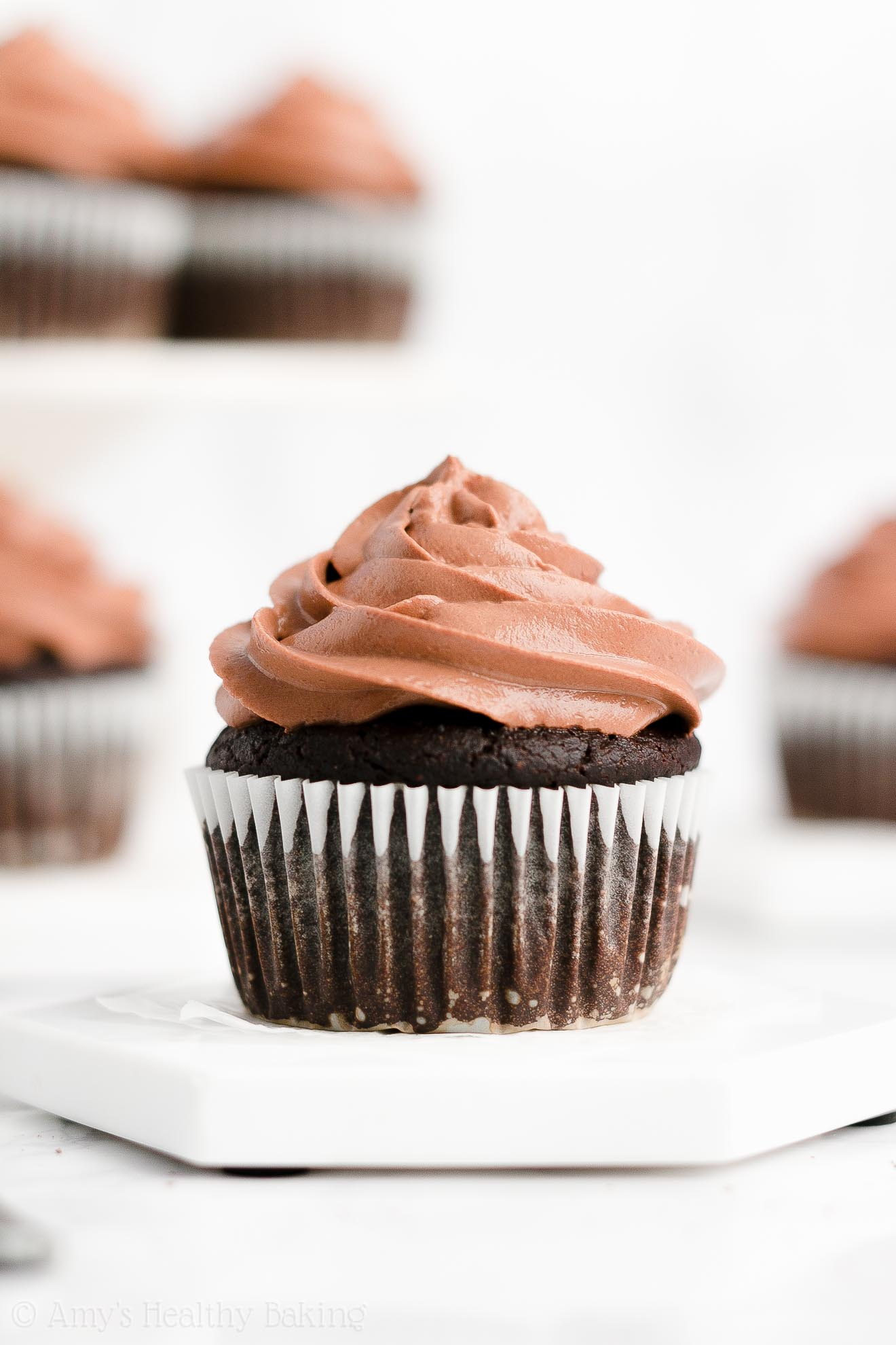 Best Easy Healthy Weight Watchers Low Calorie One-Bowl Chocolate Cupcakes