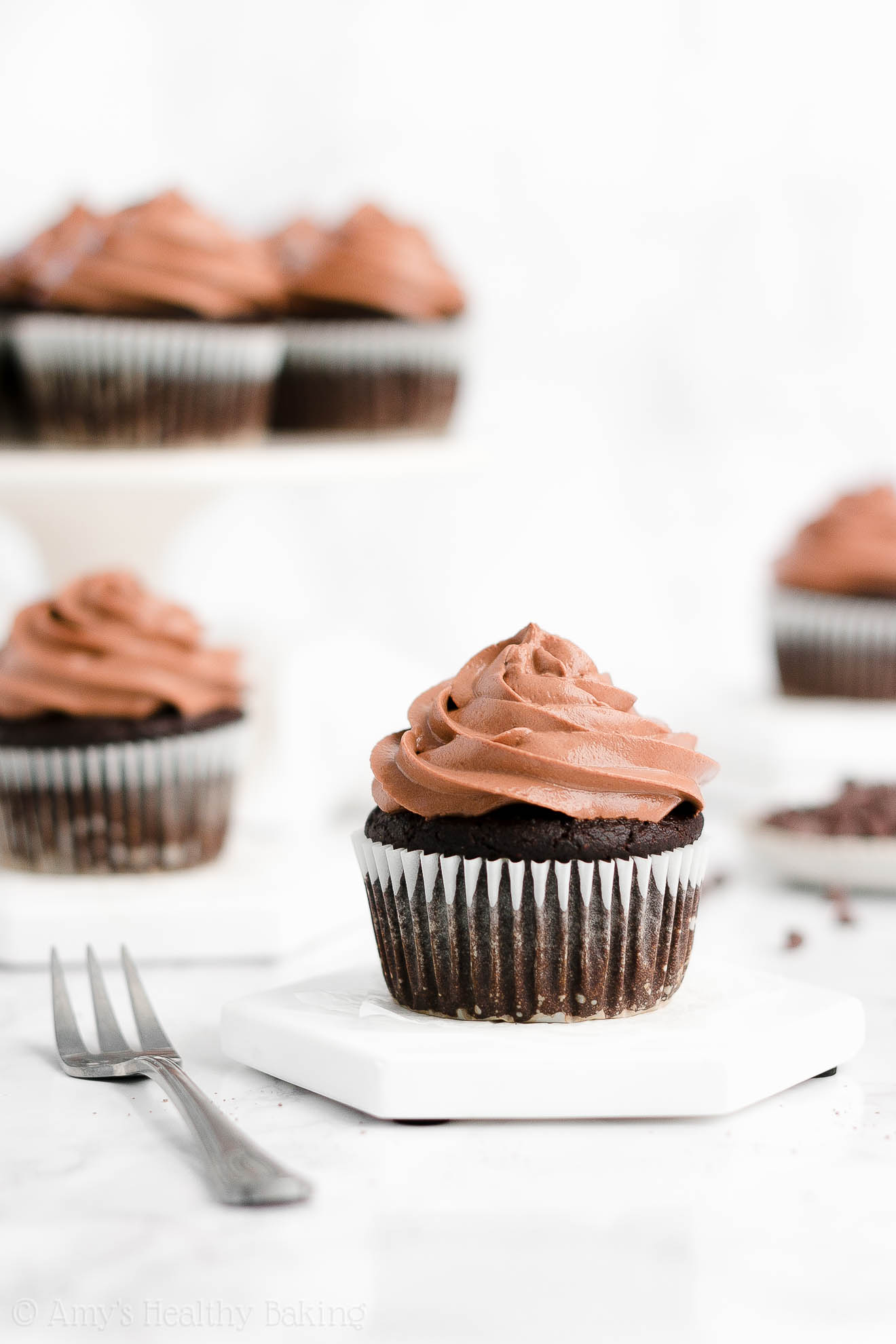 Best Easy Healthy Homemade Gluten-Free Moist One-Bowl Chocolate Cupcakes