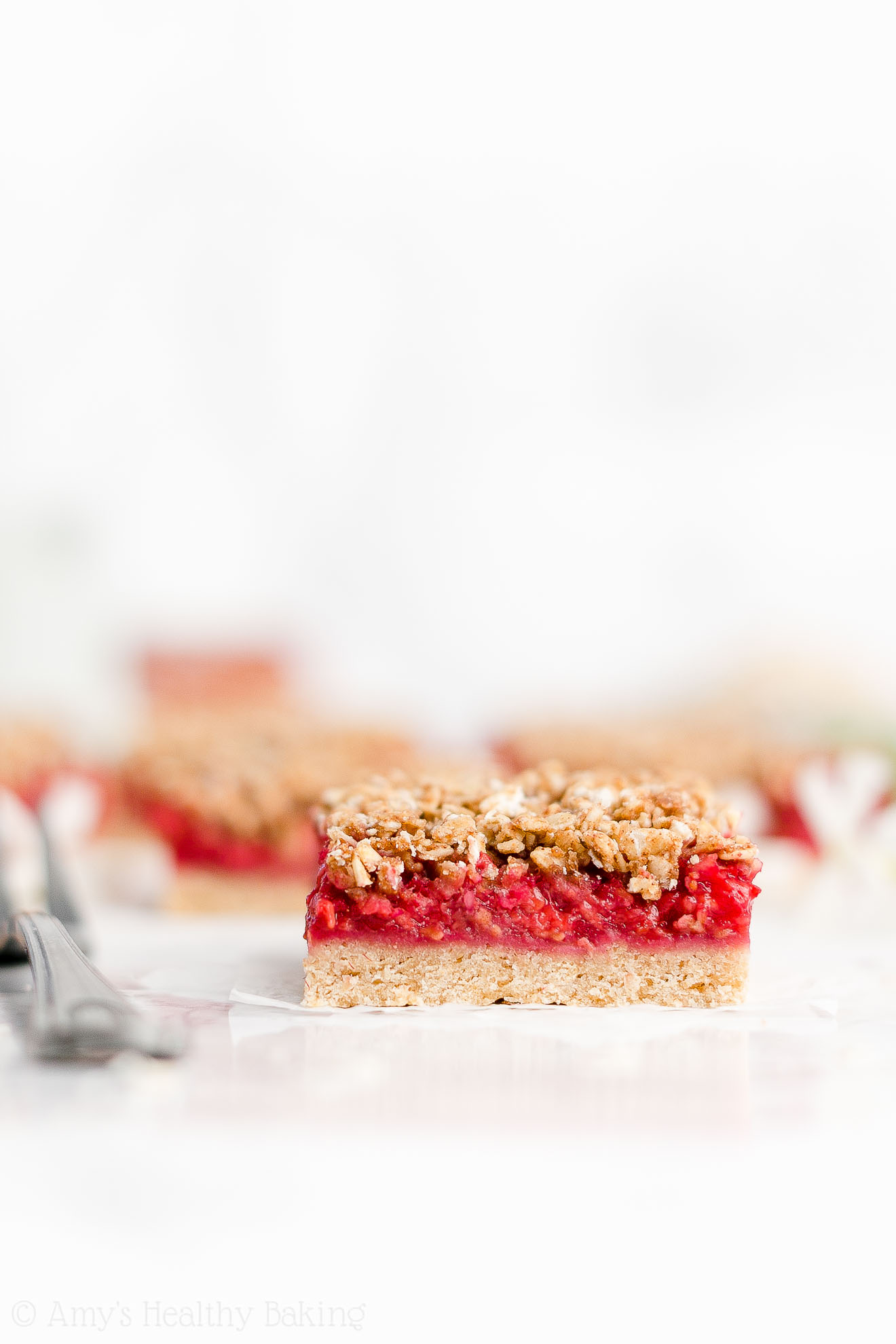 Best Easy Healthy Whole Wheat Low Sugar Low Fat Raspberry Oat Crumble Bars