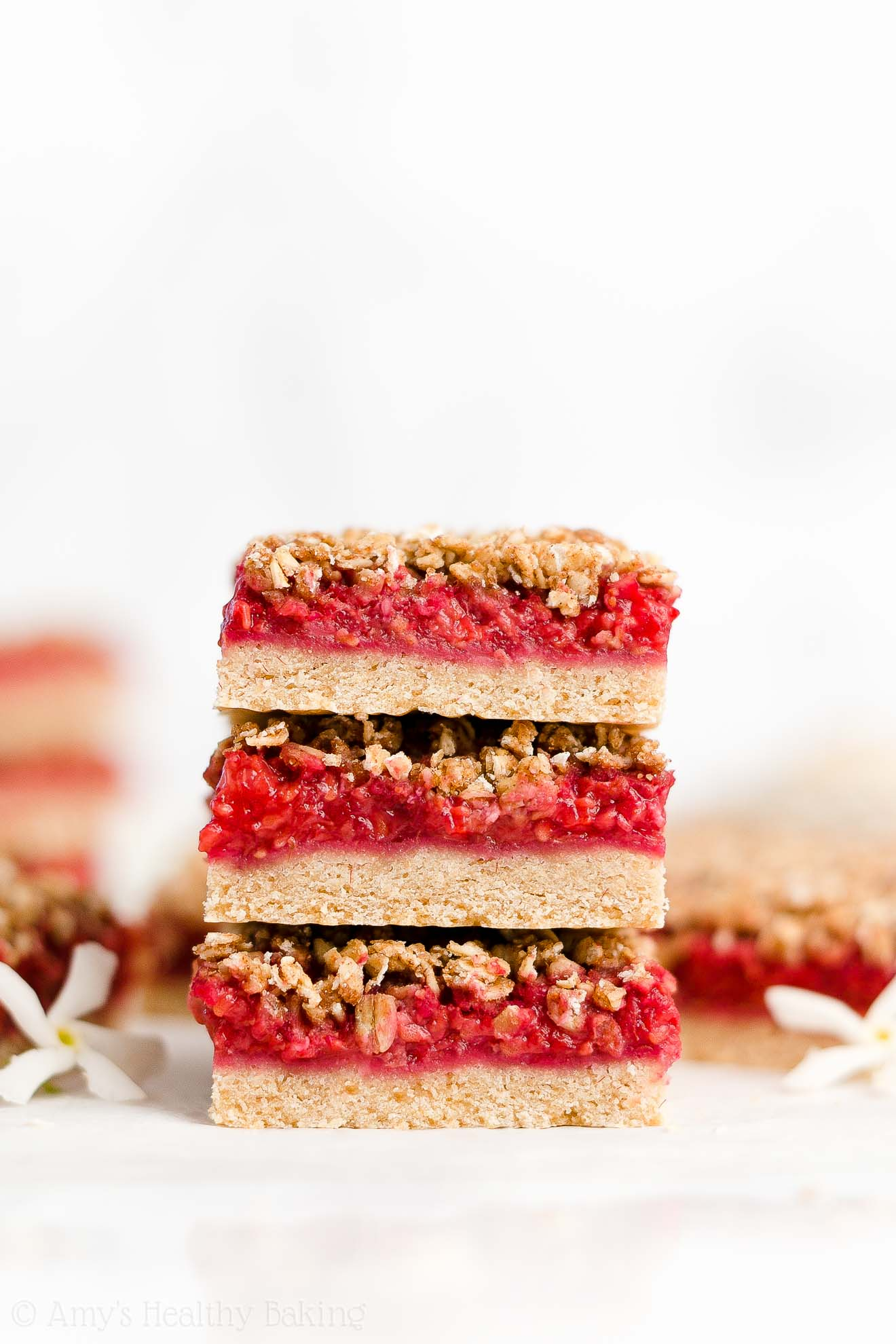 Best Easy Healthy Gluten Free Dairy Free Egg Free Fresh Raspberry Crumble Bars