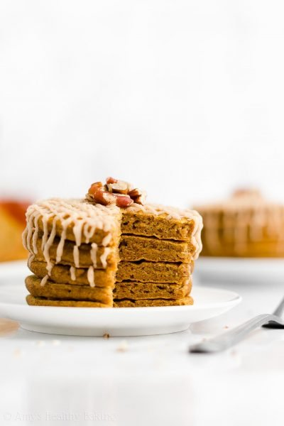 The Ultimate Healthy Pumpkin Pancakes