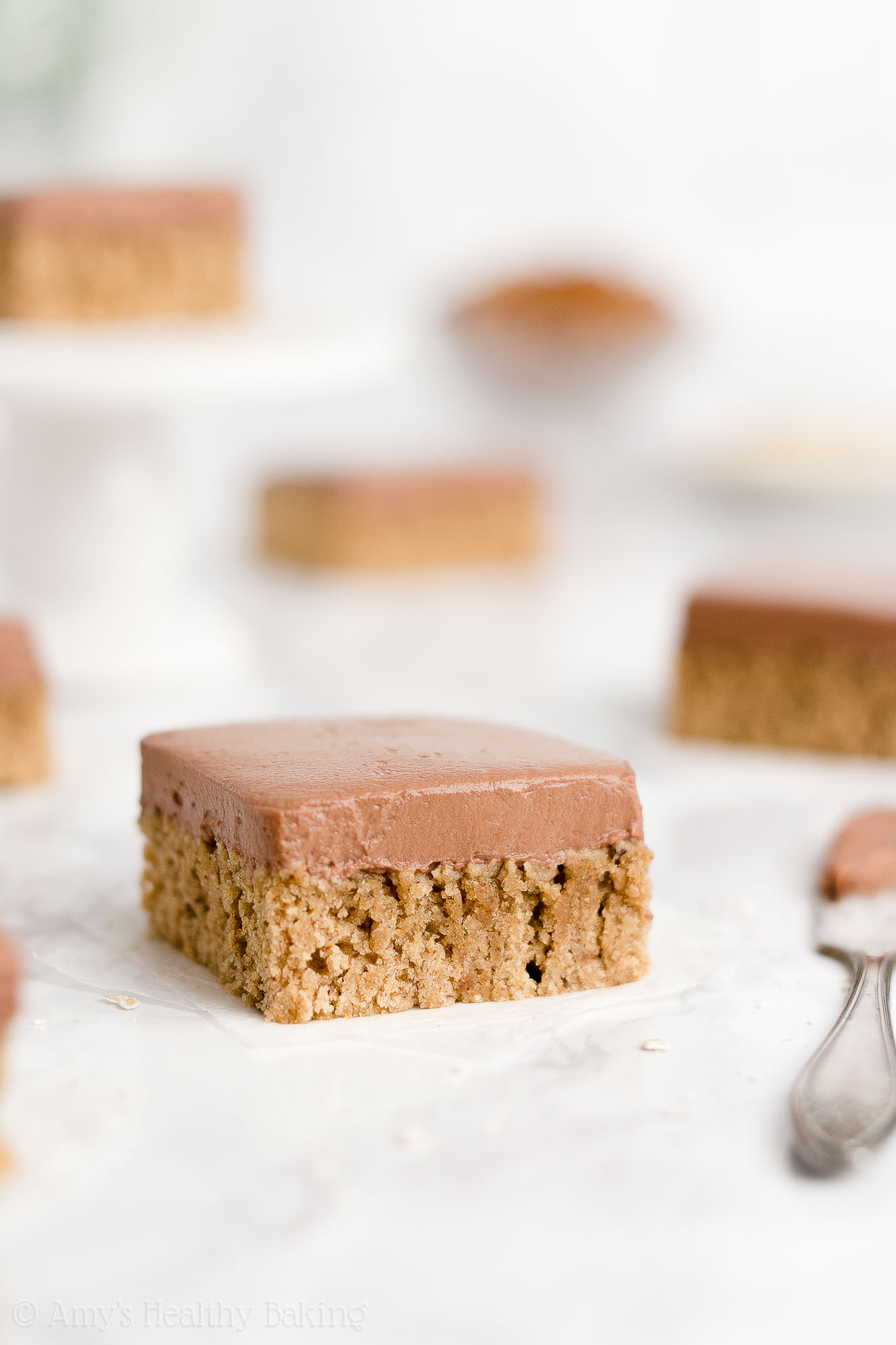 Best Easy Healthy Soft & Chewy Eggless Flourless Almond Butter Cookie Bars