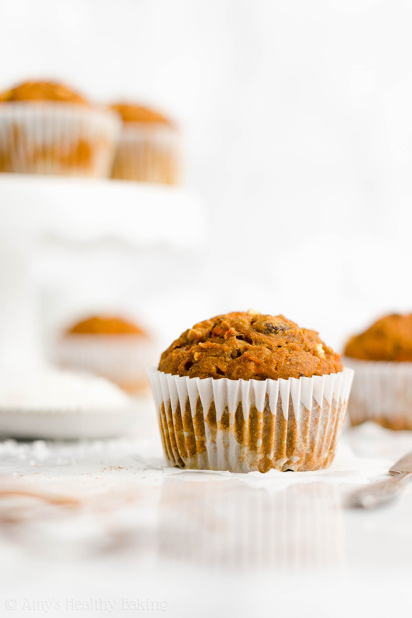 Best Easy Healthy Low Calorie No Sugar Moist Pumpkin Morning Glory Muffins