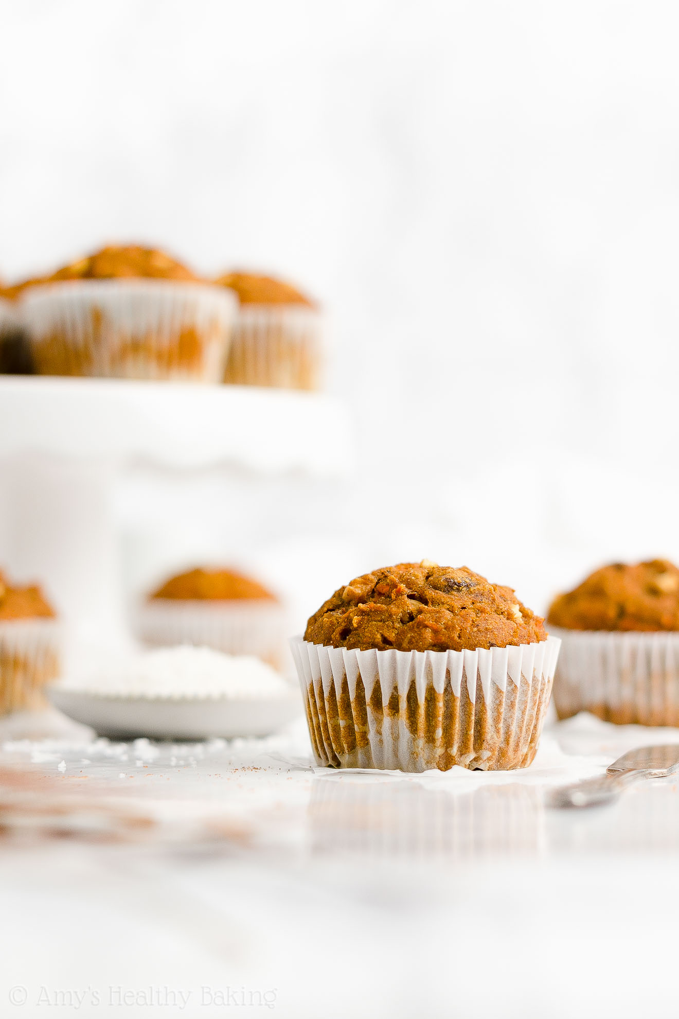 Best Easy Healthy Whole Wheat Low Fat Moist Pumpkin Morning Glory Muffins