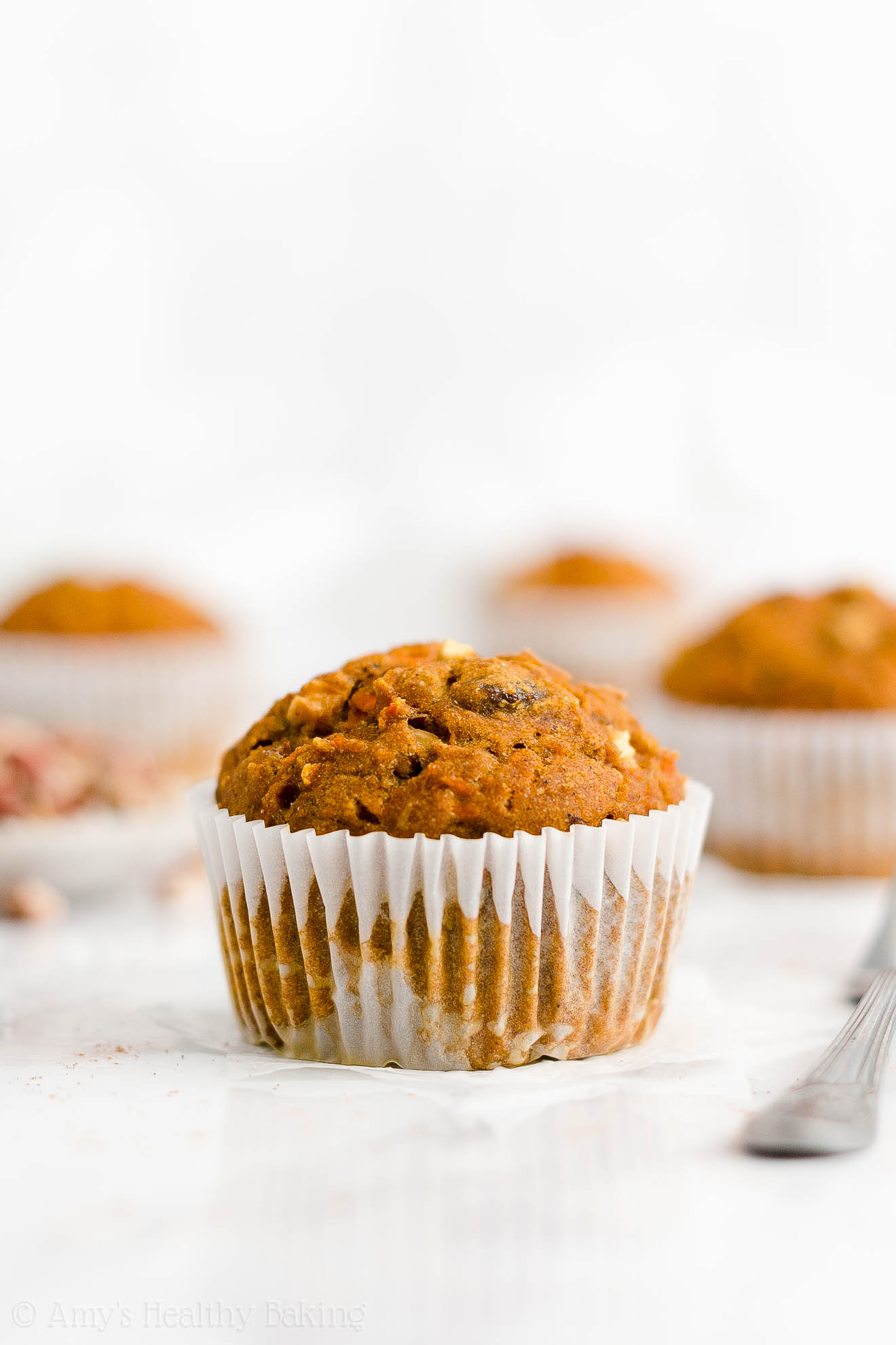 Best Easy Healthy Gluten Free Sugar Free Pumpkin Spice Morning Glory Muffins
