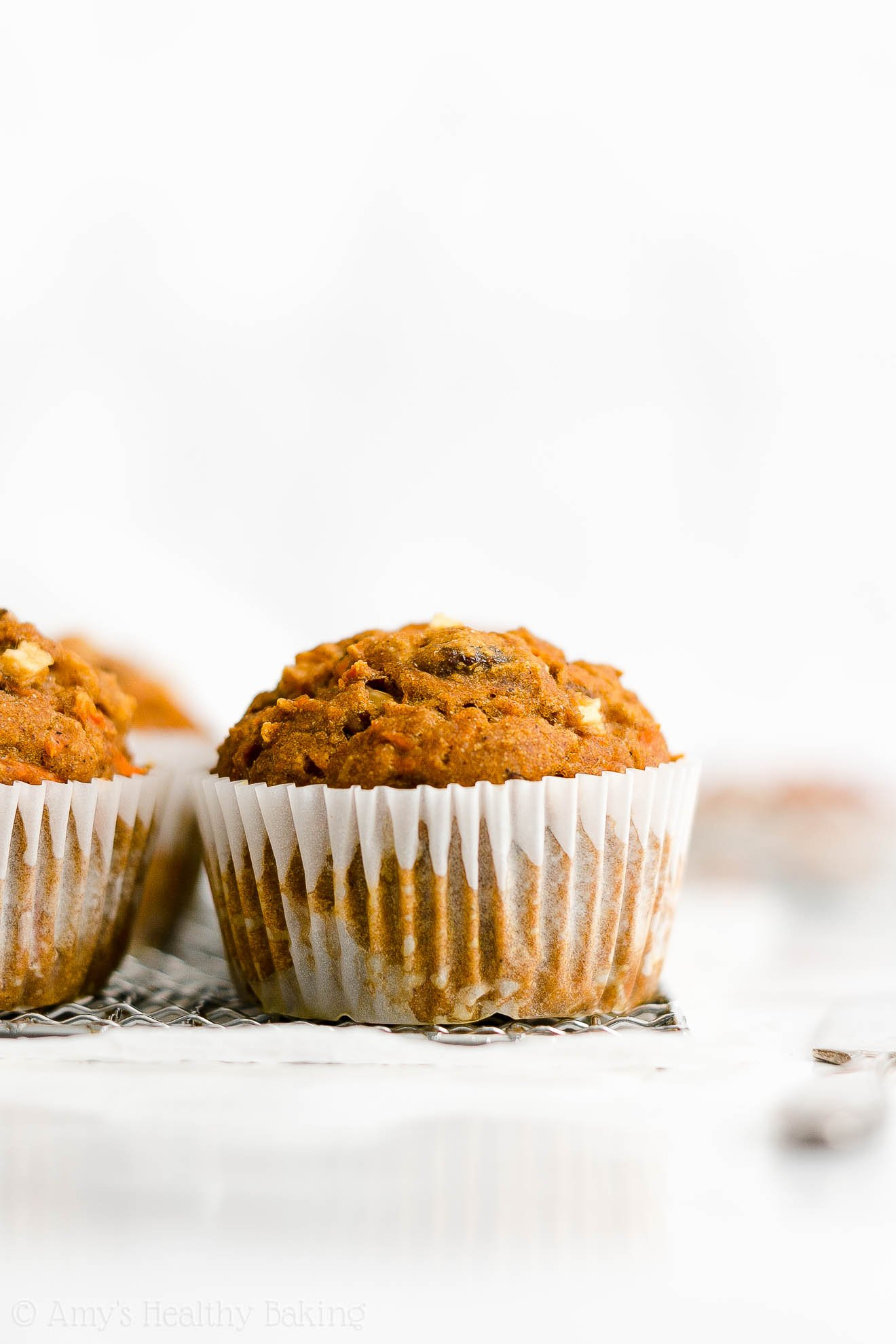 Best Easy Healthy Low Fat Low Sugar Moist Pumpkin Spice Morning Glory Muffins