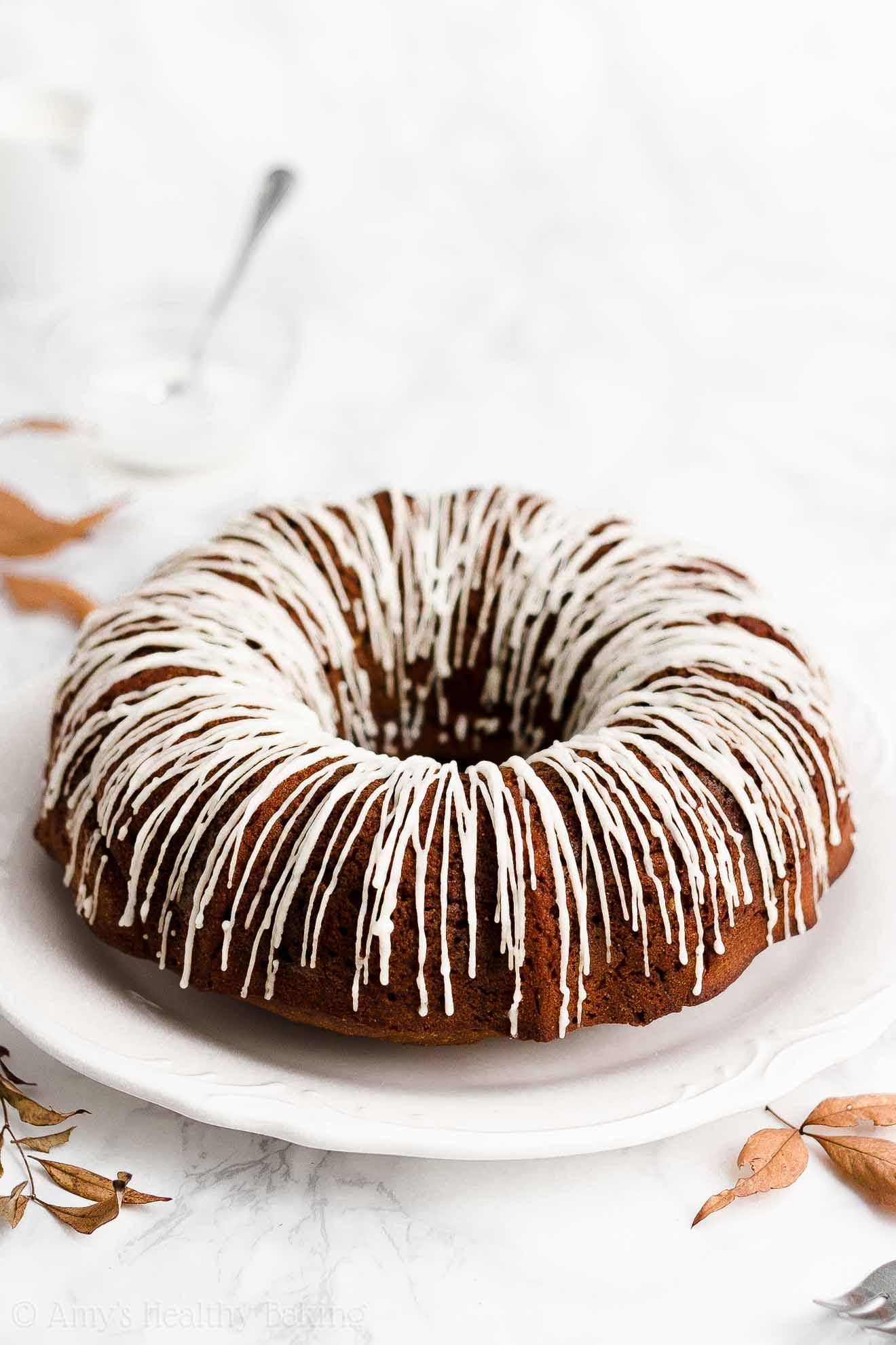 Best Ever Easy Healthy Greek Yogurt Classic Molasses Gingerbread Bundt Cake