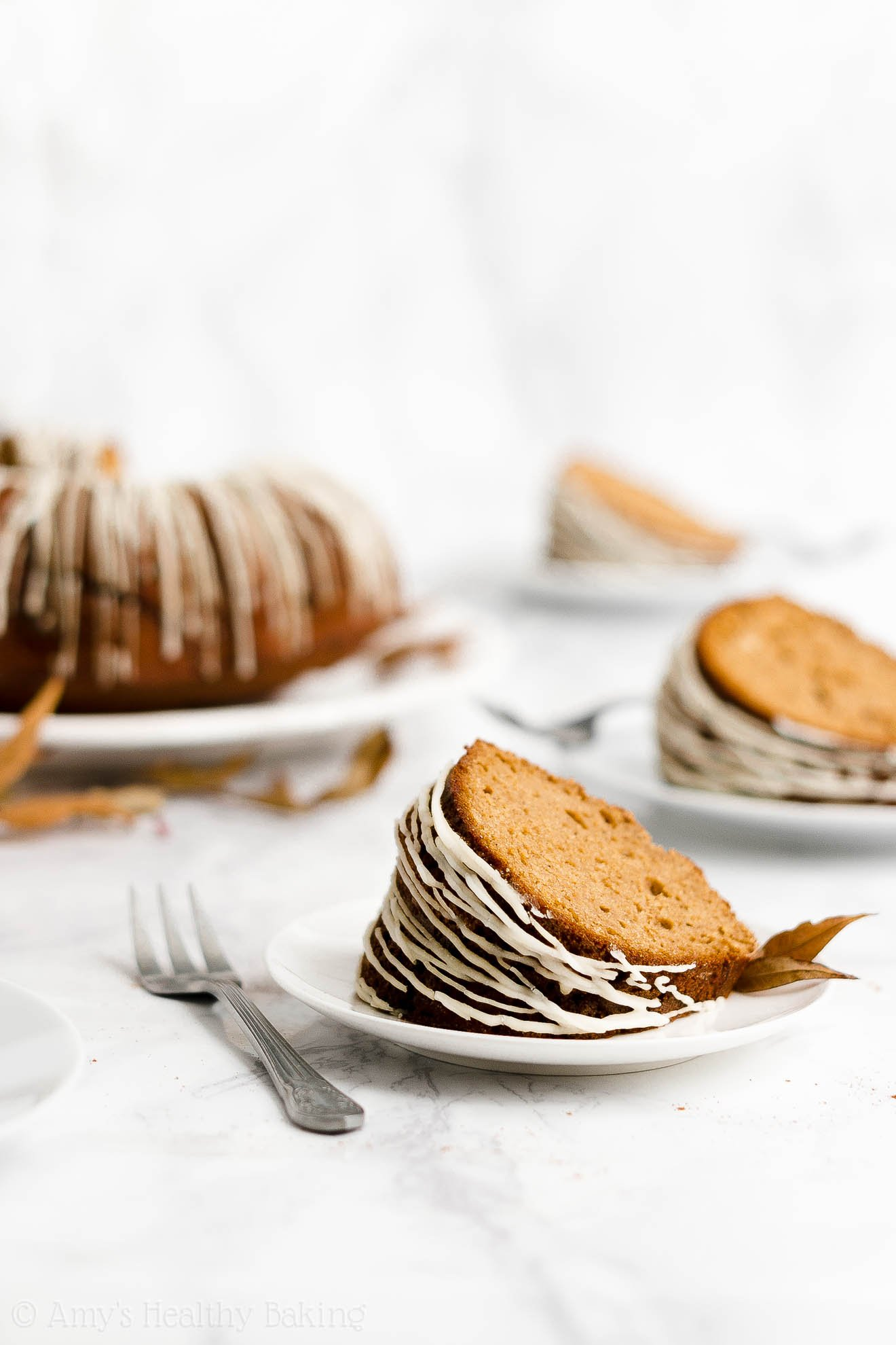Ultimate Healthy Gluten Free Classic Molasses Gingerbread Bundt Cake with Glaze