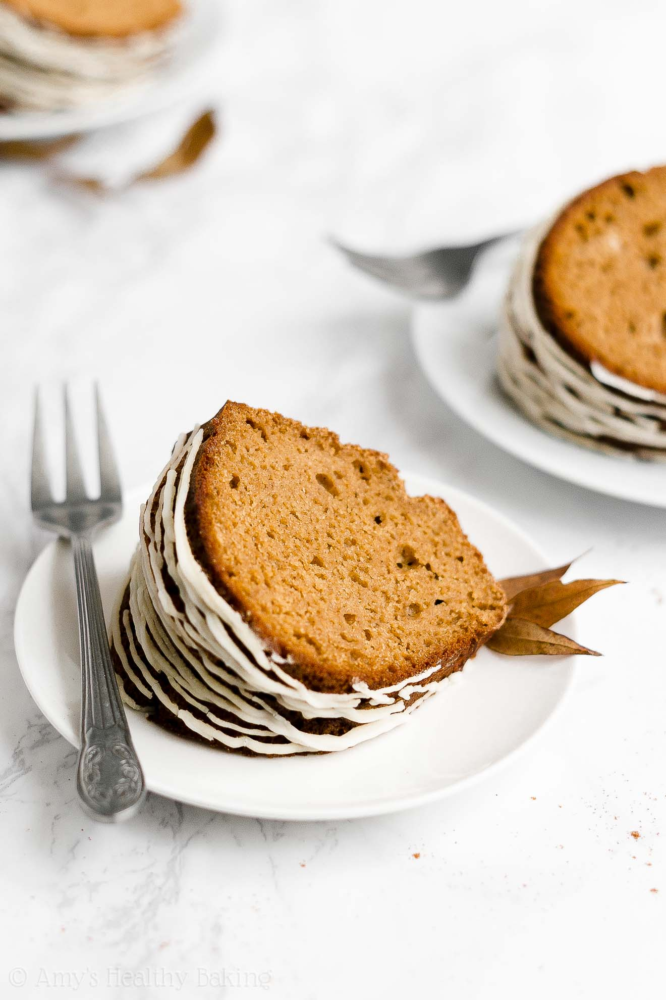 BEST Healthy Low Calorie Gluten-Free Moist Classic Gingerbread Bundt Cake