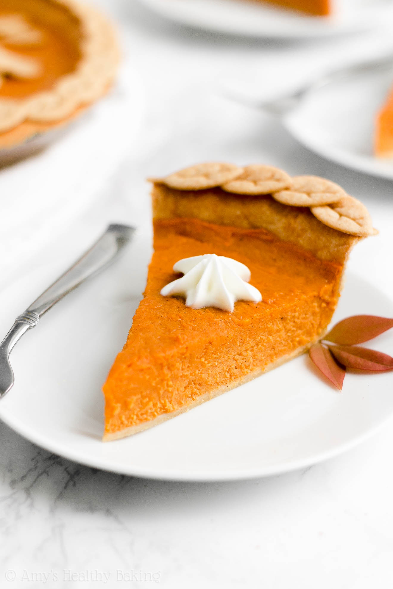 ULTIMATE Best Ever Healthy No Sugar Greek Yogurt Classic Sweet Potato Pie
